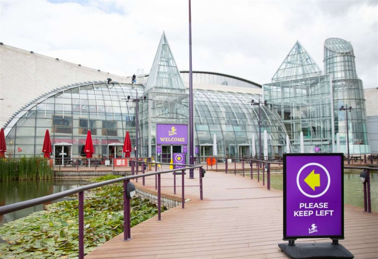 Bluewater to reopen with queueing system in place