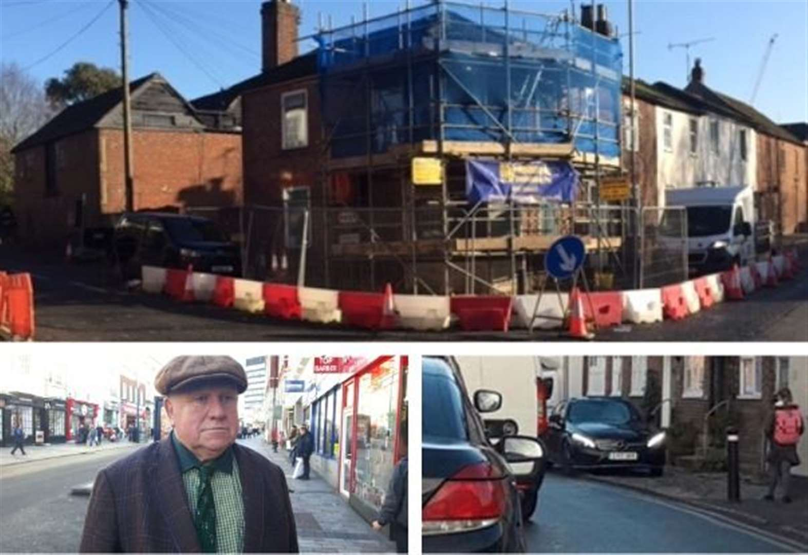 Why Fergus Wilson is behind traffic chaos in this village