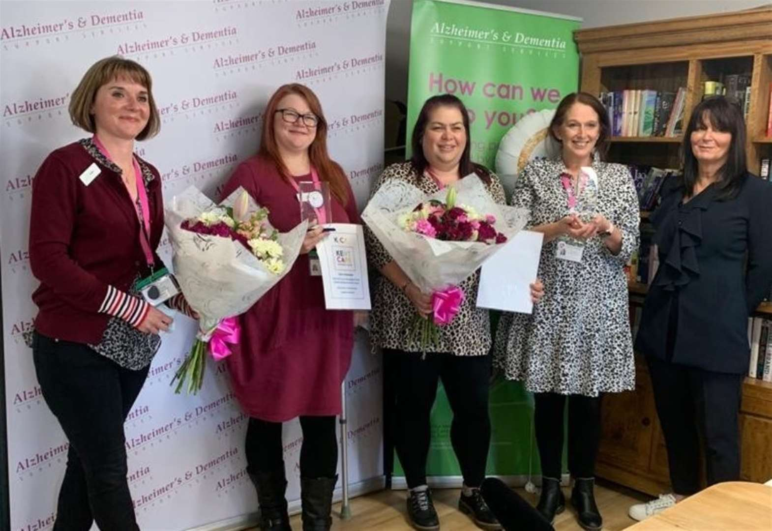 Charity recognised for dementia work