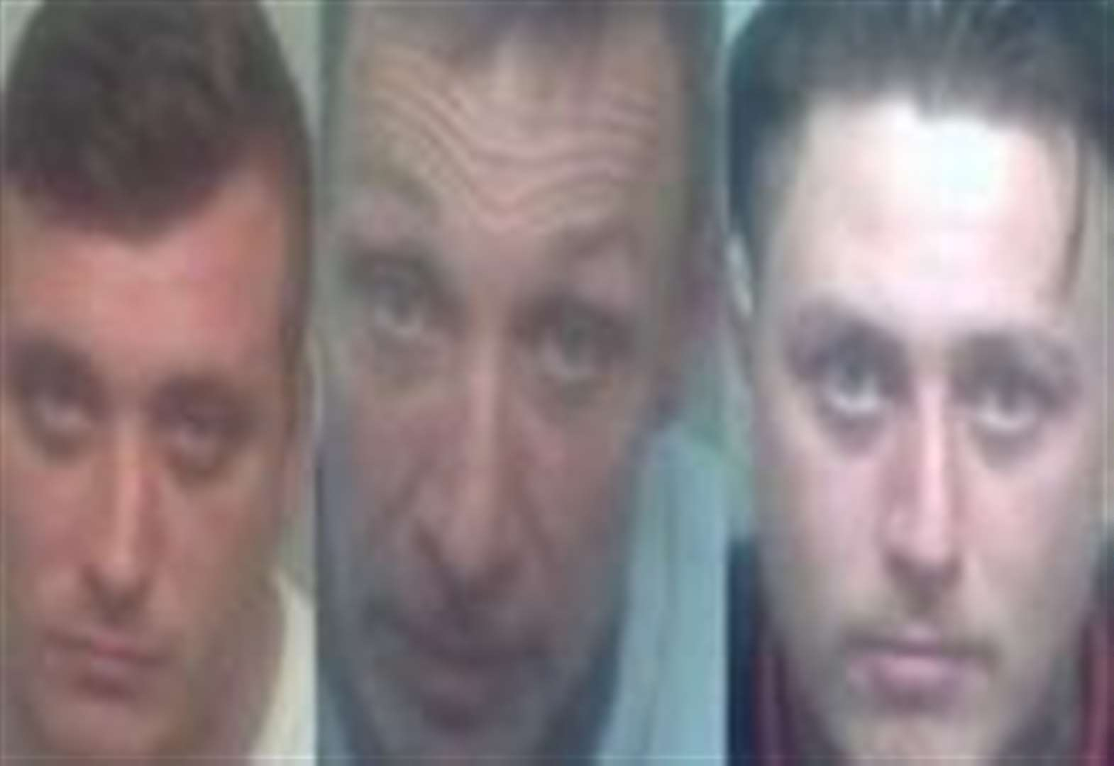 Knife attack thugs jailed for 38 years