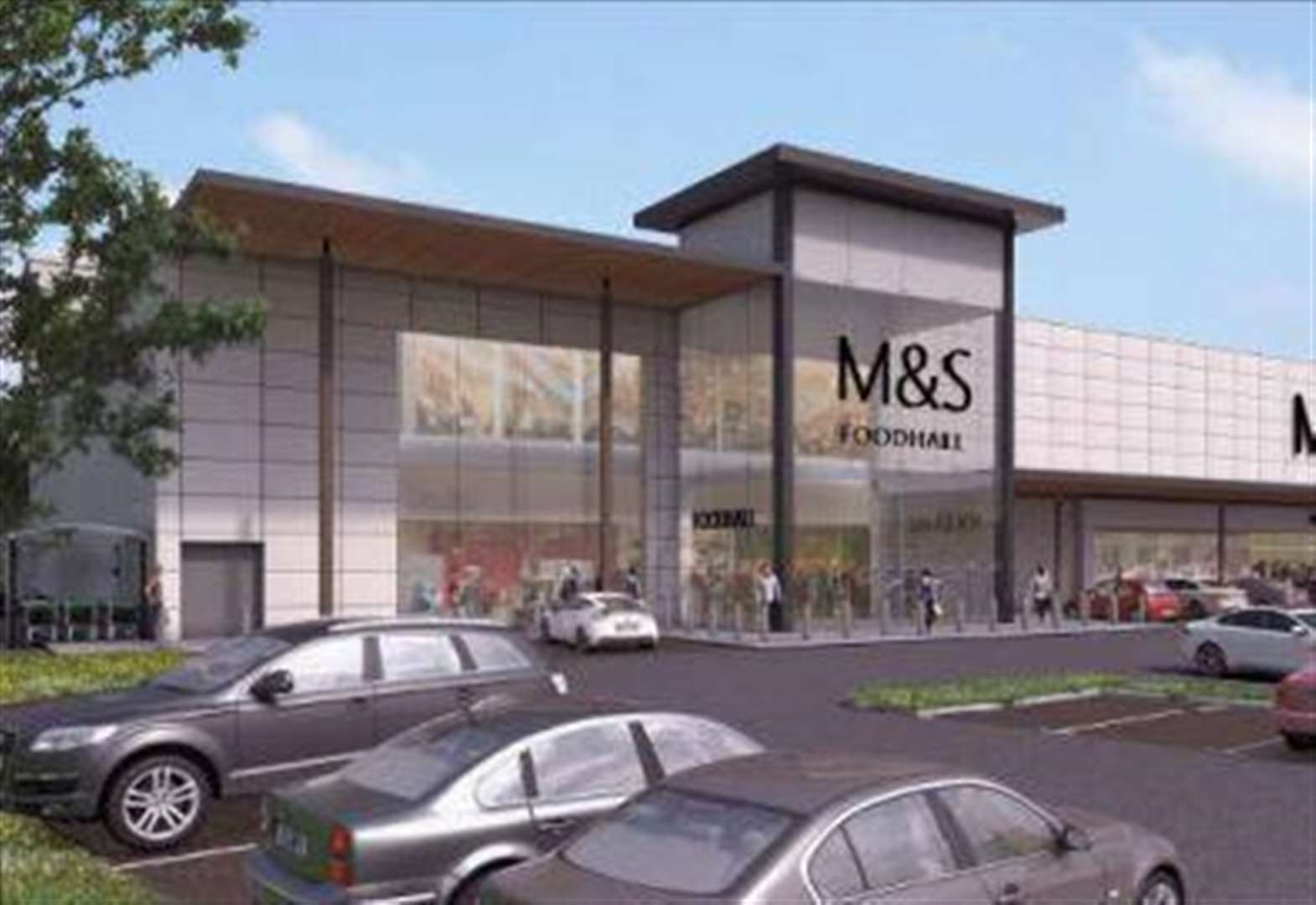 M&S superstore looks set to get green light