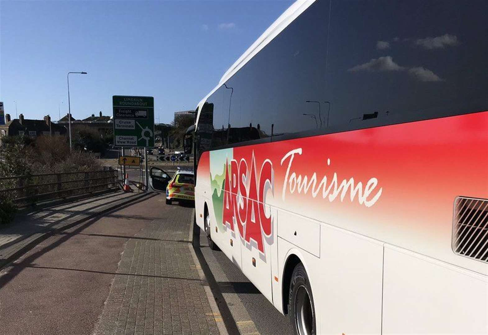 'Shocking' behaviour by coach driver