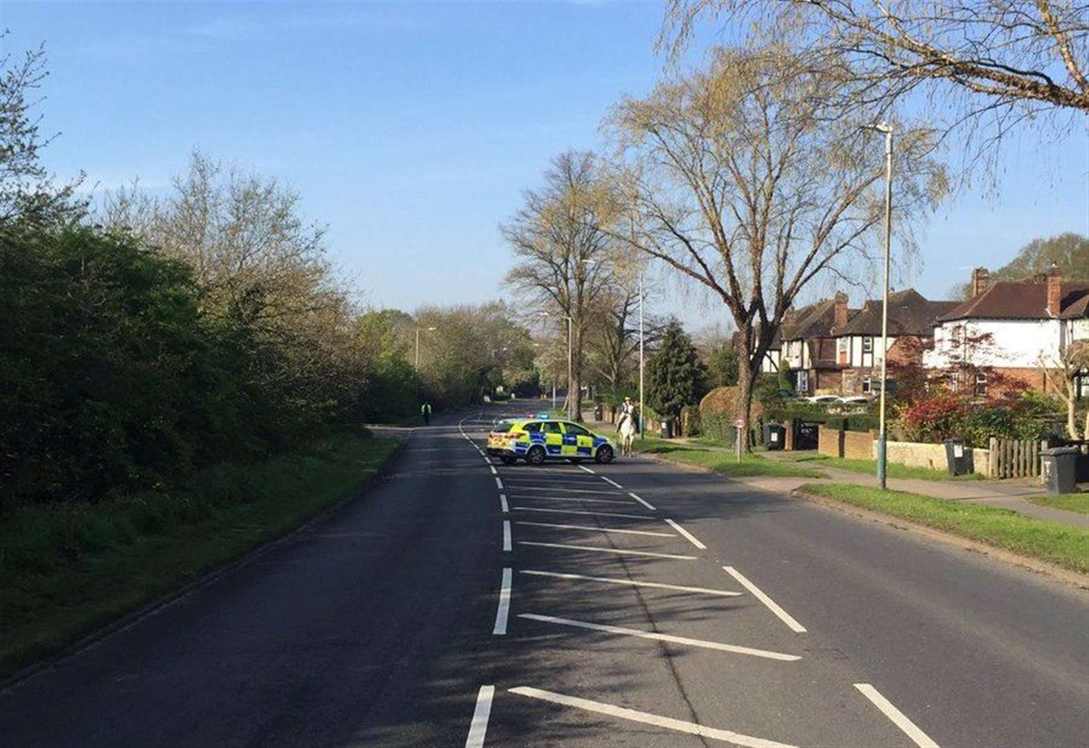 Road closed after serious crash