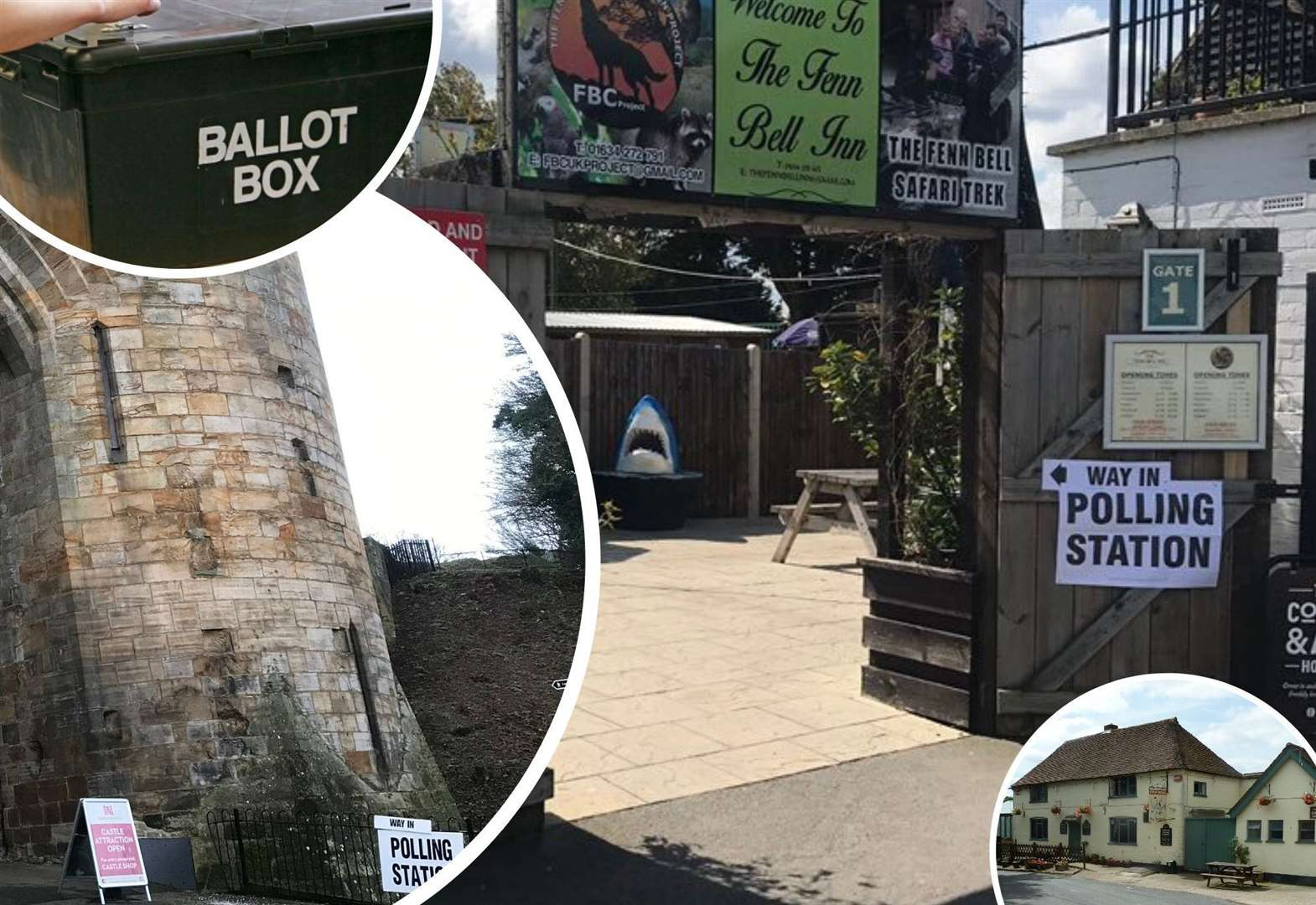 Are these Kent's most unusual polling stations?