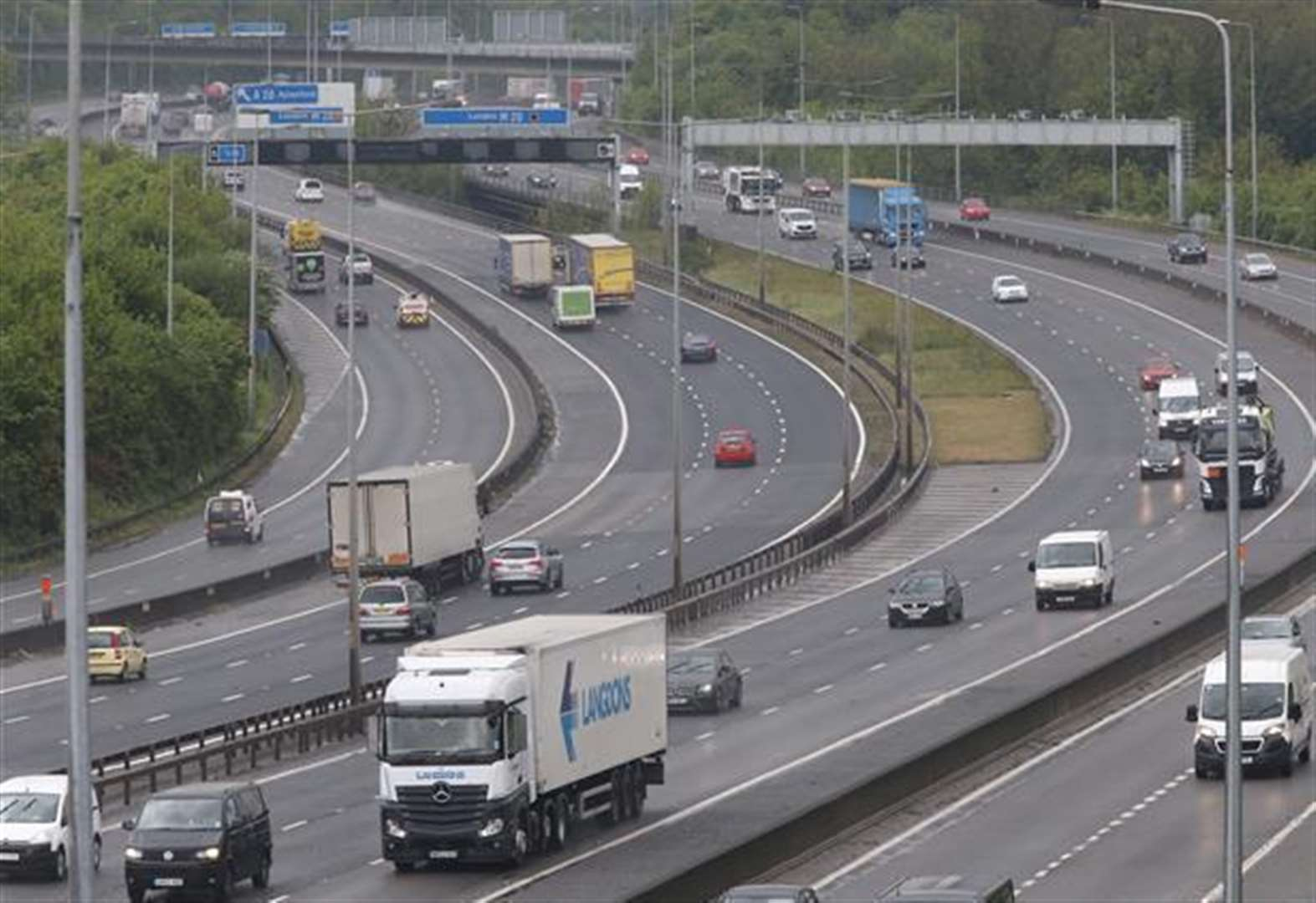 M20 closed for three nights