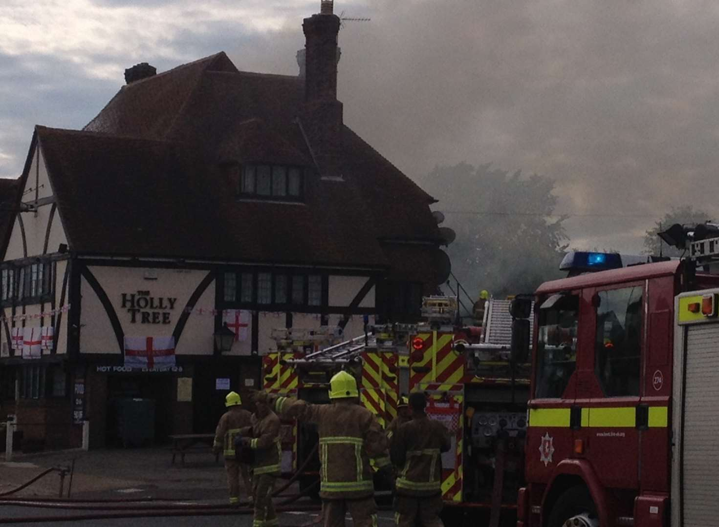 'Last orders' for independent pub damaged in blaze