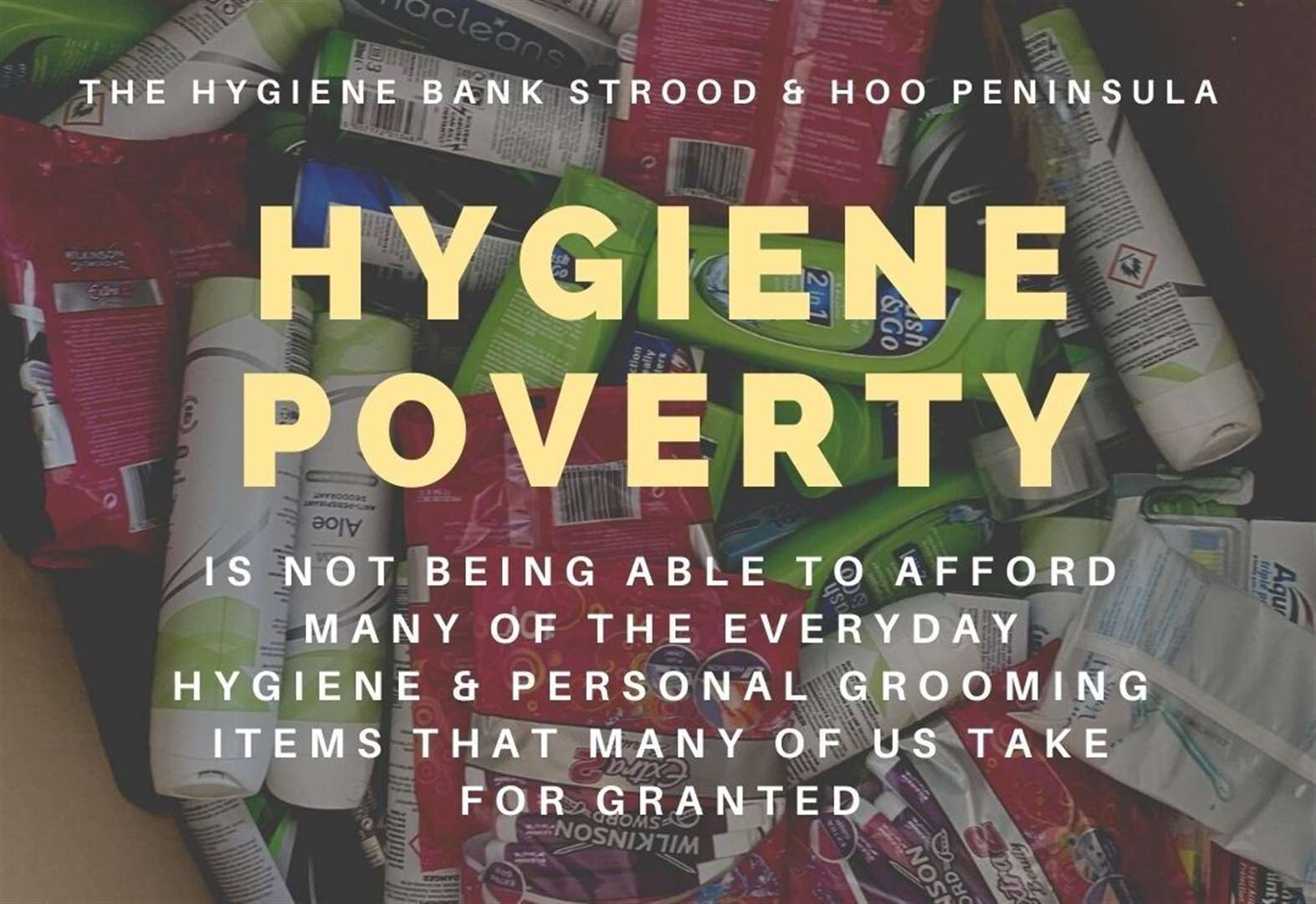 Hygiene bank tackles child poverty