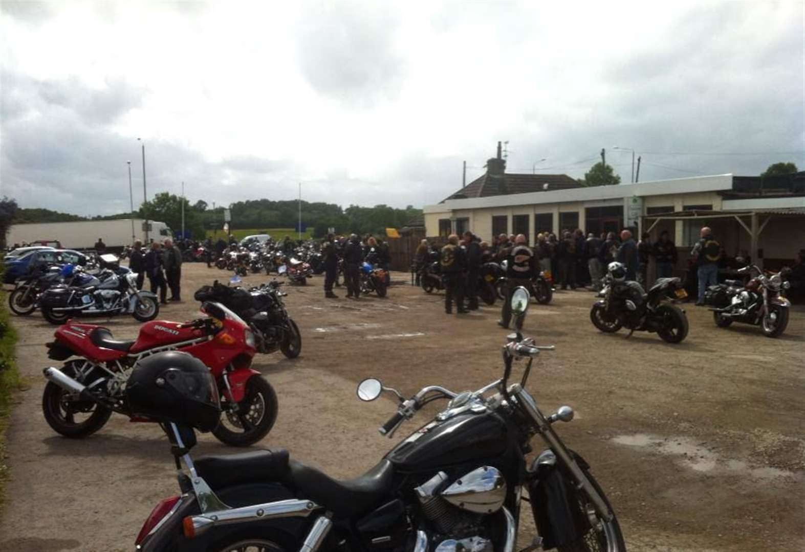 Police could close biker café to stop stunts