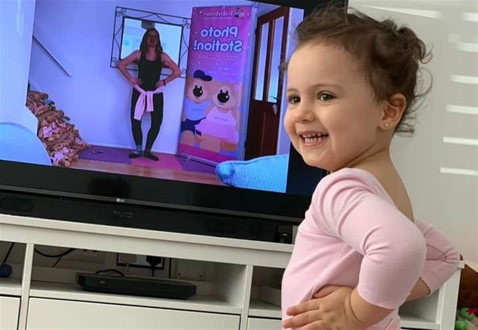 Online baby ballet keeps toddlers on their toes