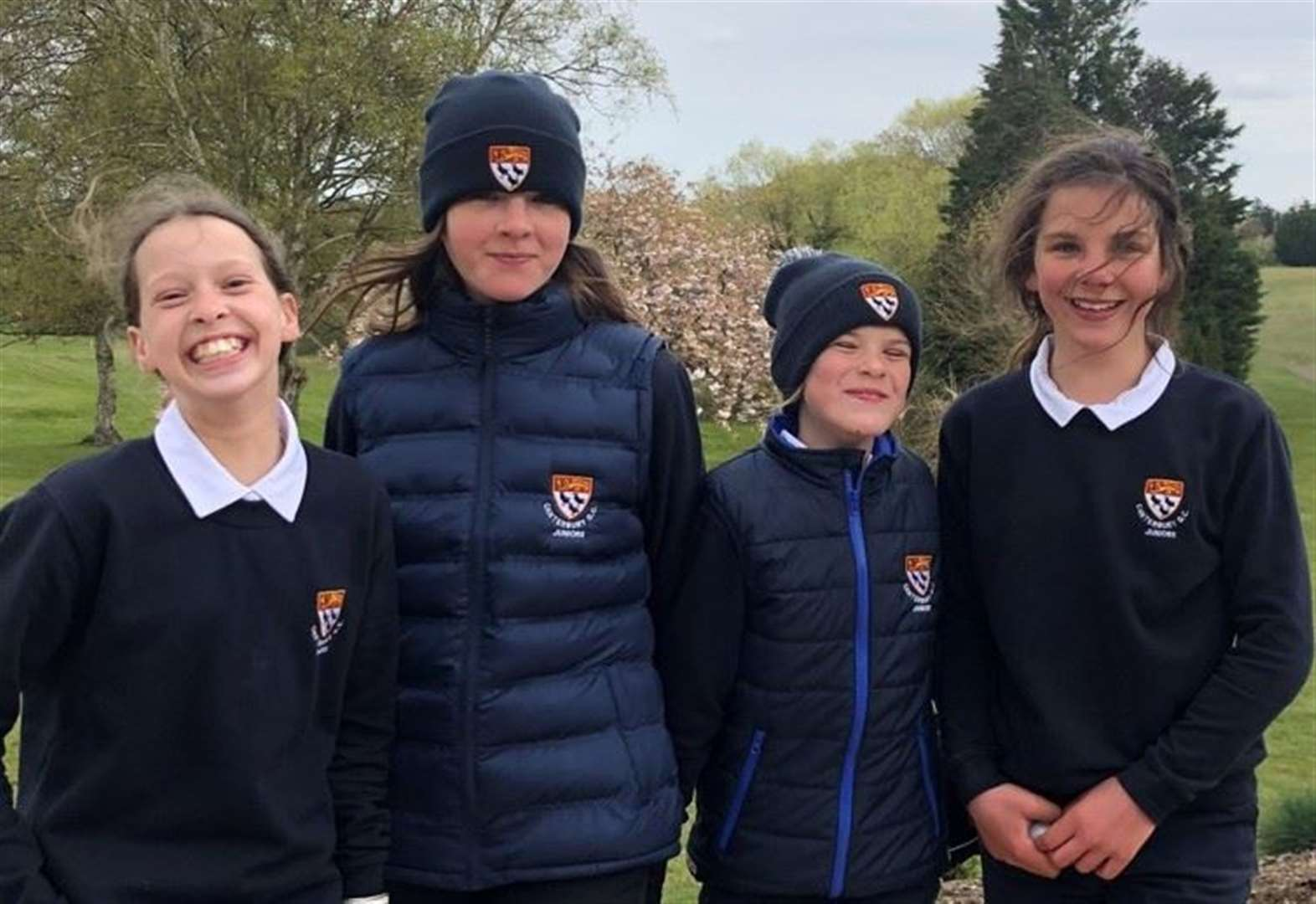 Schoolgirls stun seniors at Canterbury Golf Club