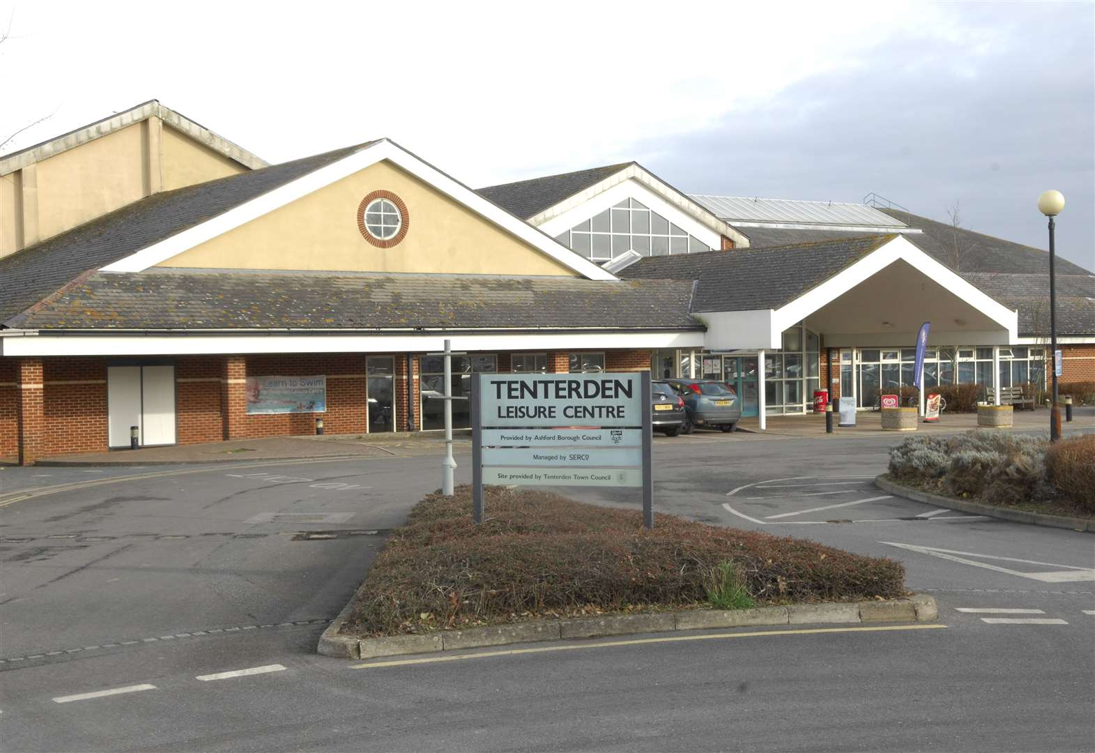 Leisure centre death confirmed as male pensioner