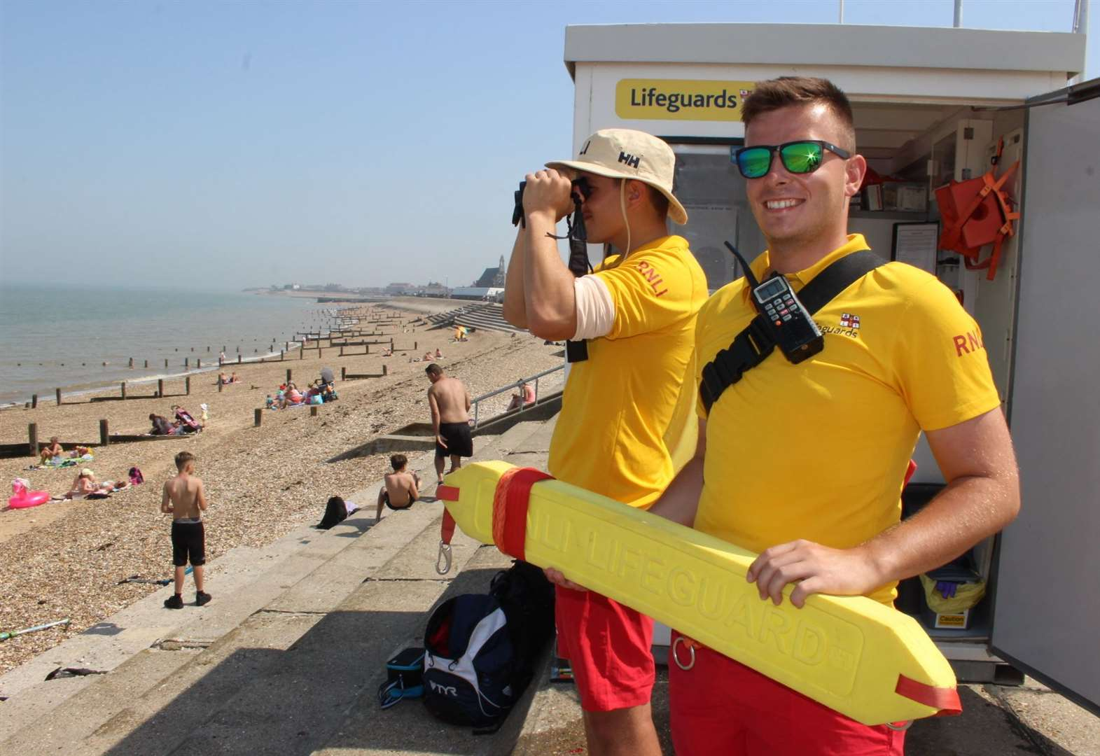 Hunt is on for 'Baywatch' lifeguards