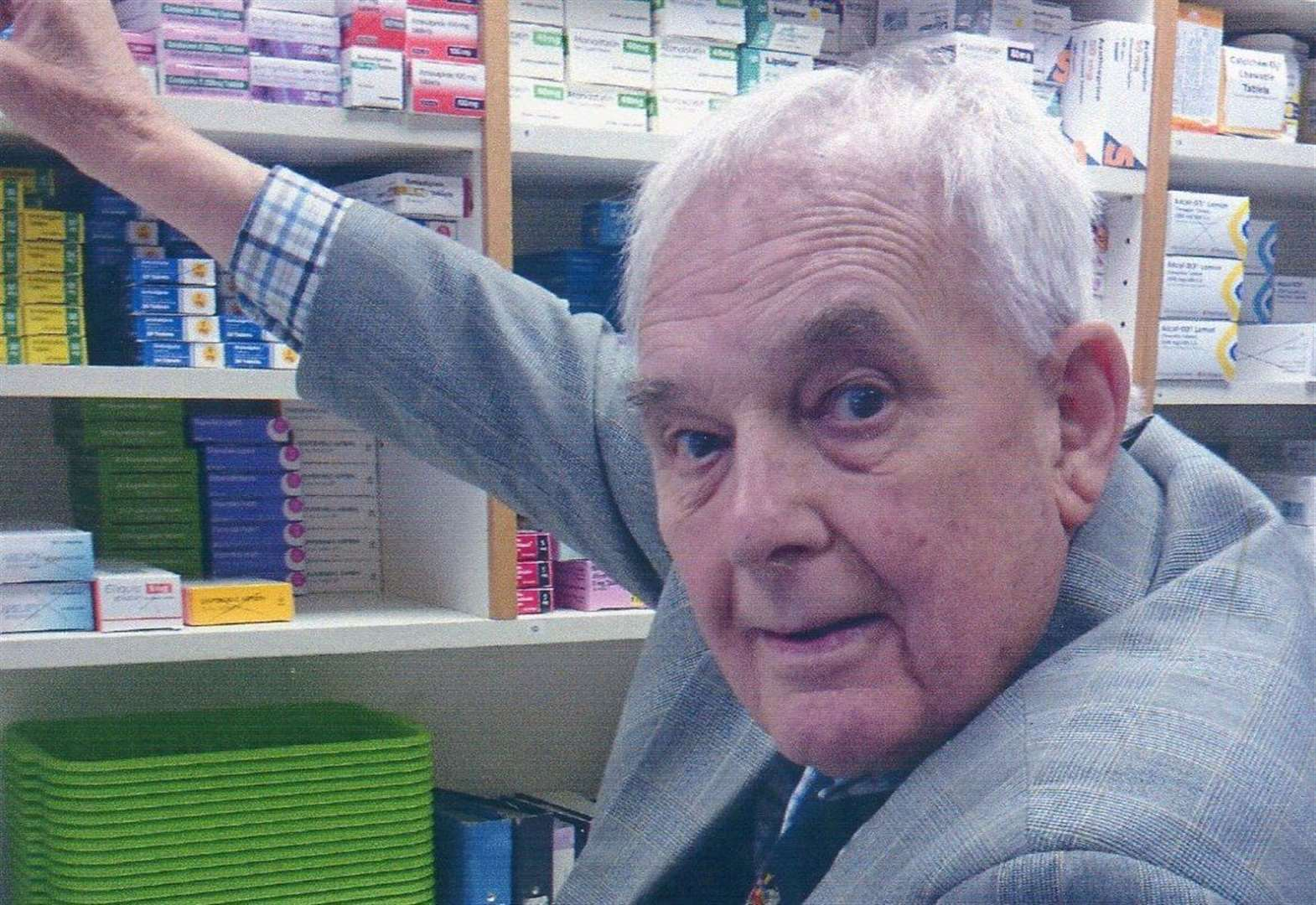 Pharmacist who dedicated his career to Pfizer
