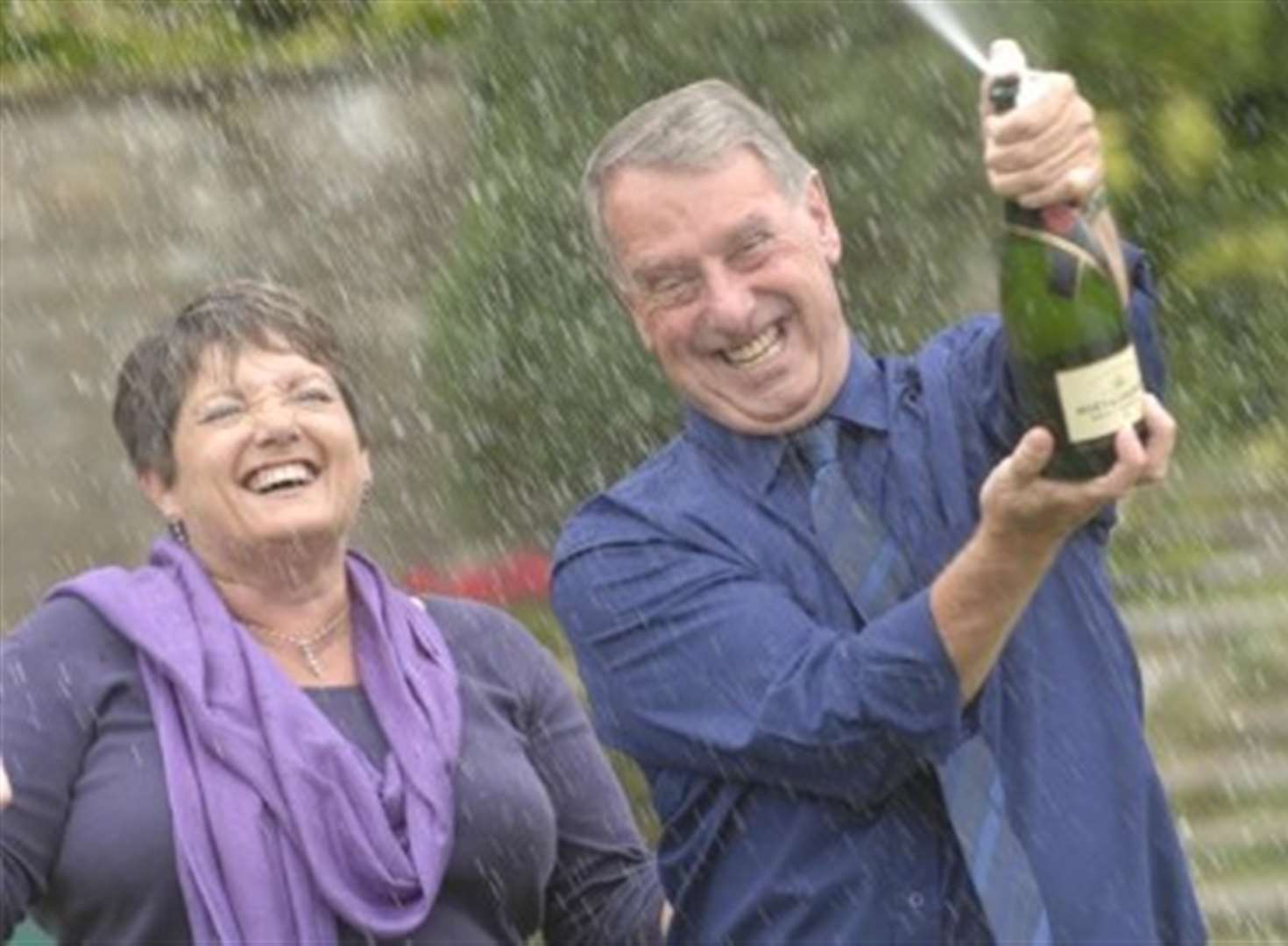 Naturists celebrate £240,000 lotto win