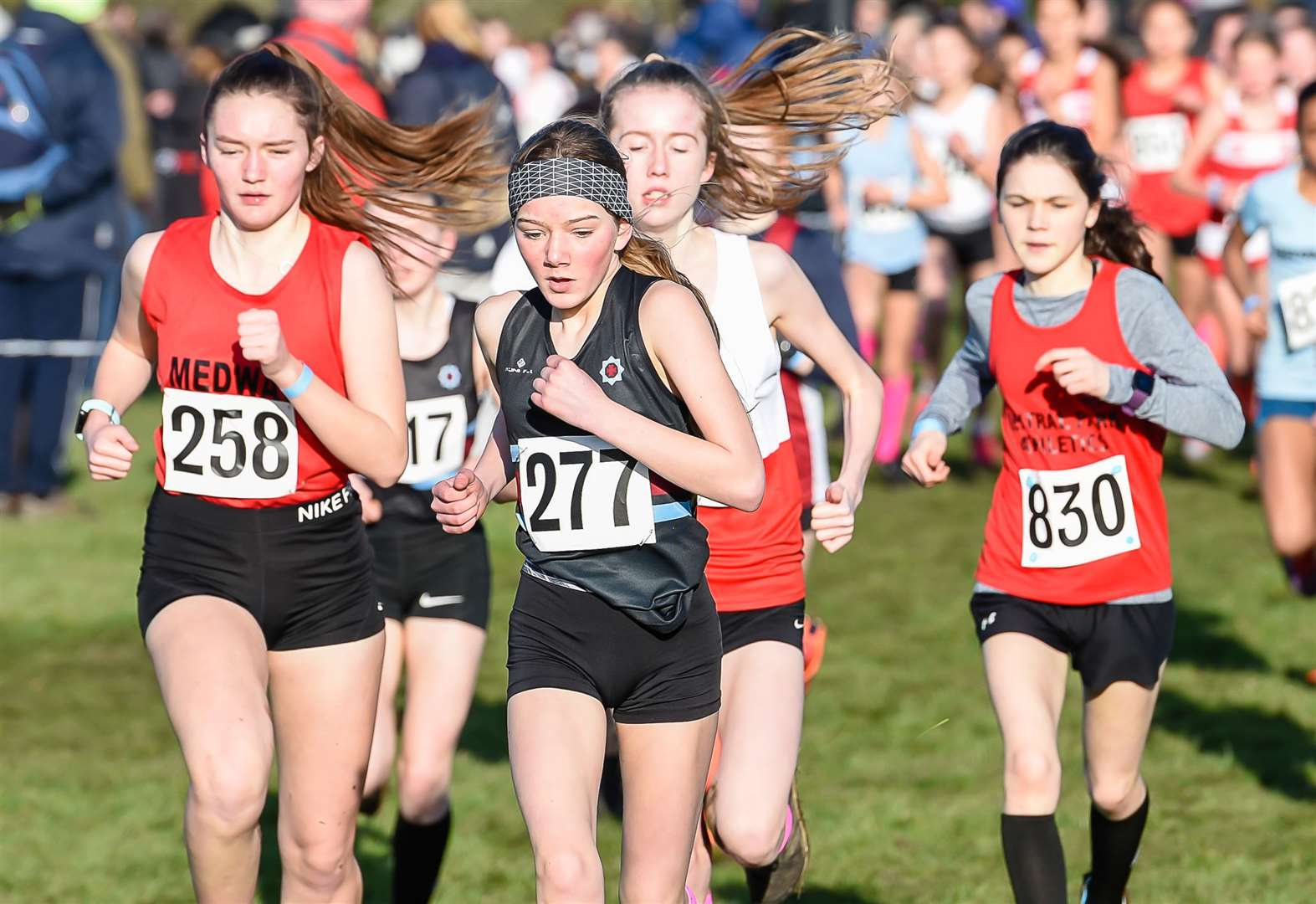 Kent Schools Cross-Country Championships 2020 - in pictures