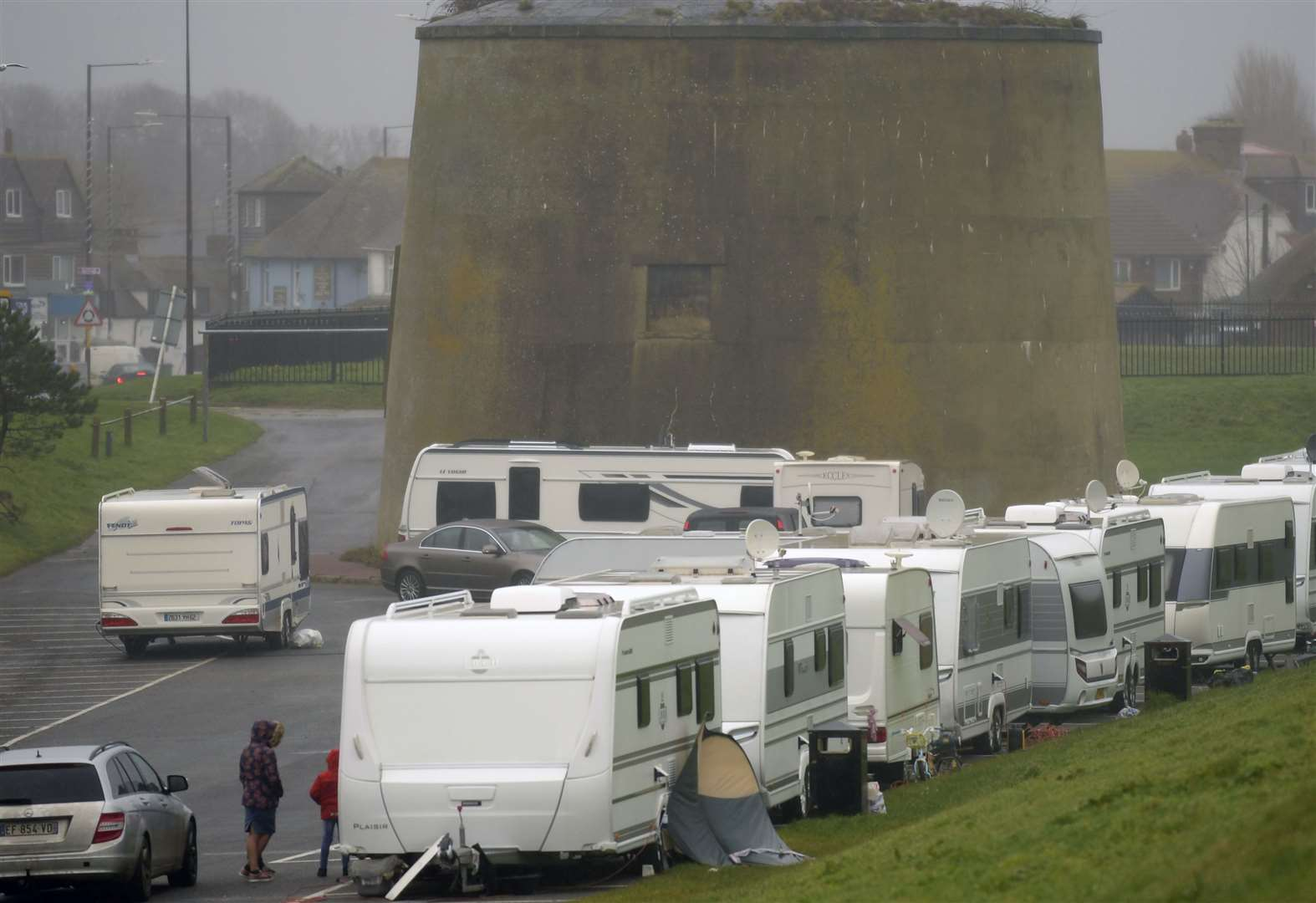 Council plans 'legal steps' to move camp