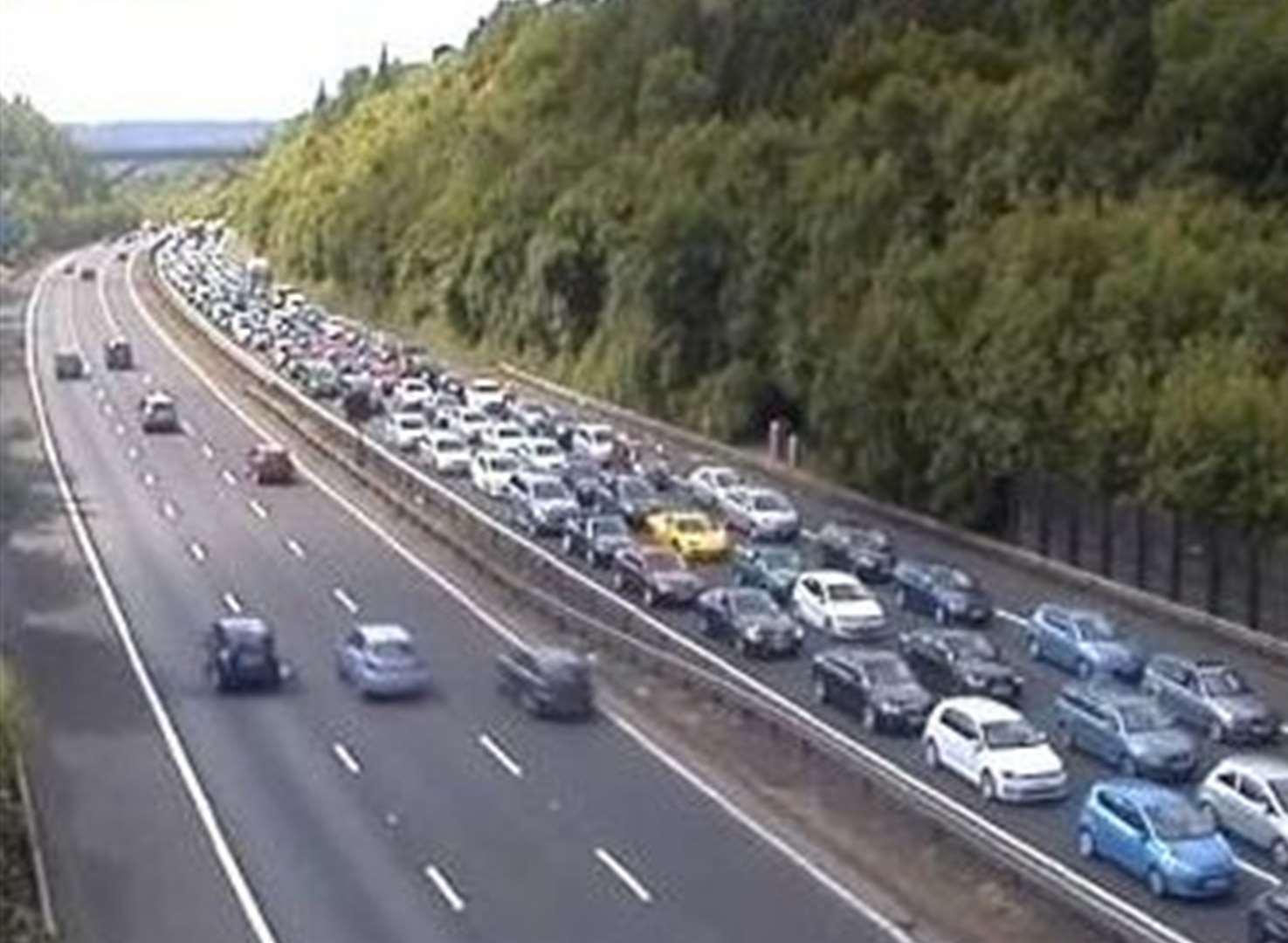 M25 delays cleared