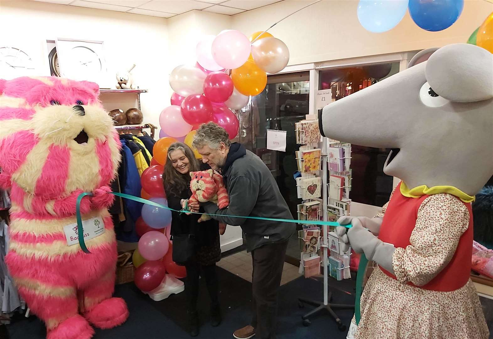 A Bagpuss of fun at store opening