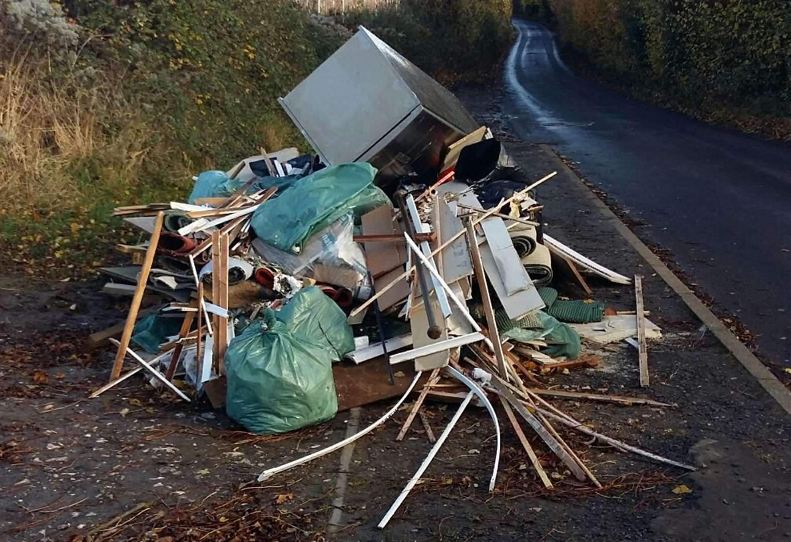 Man sentenced for fly-tipping