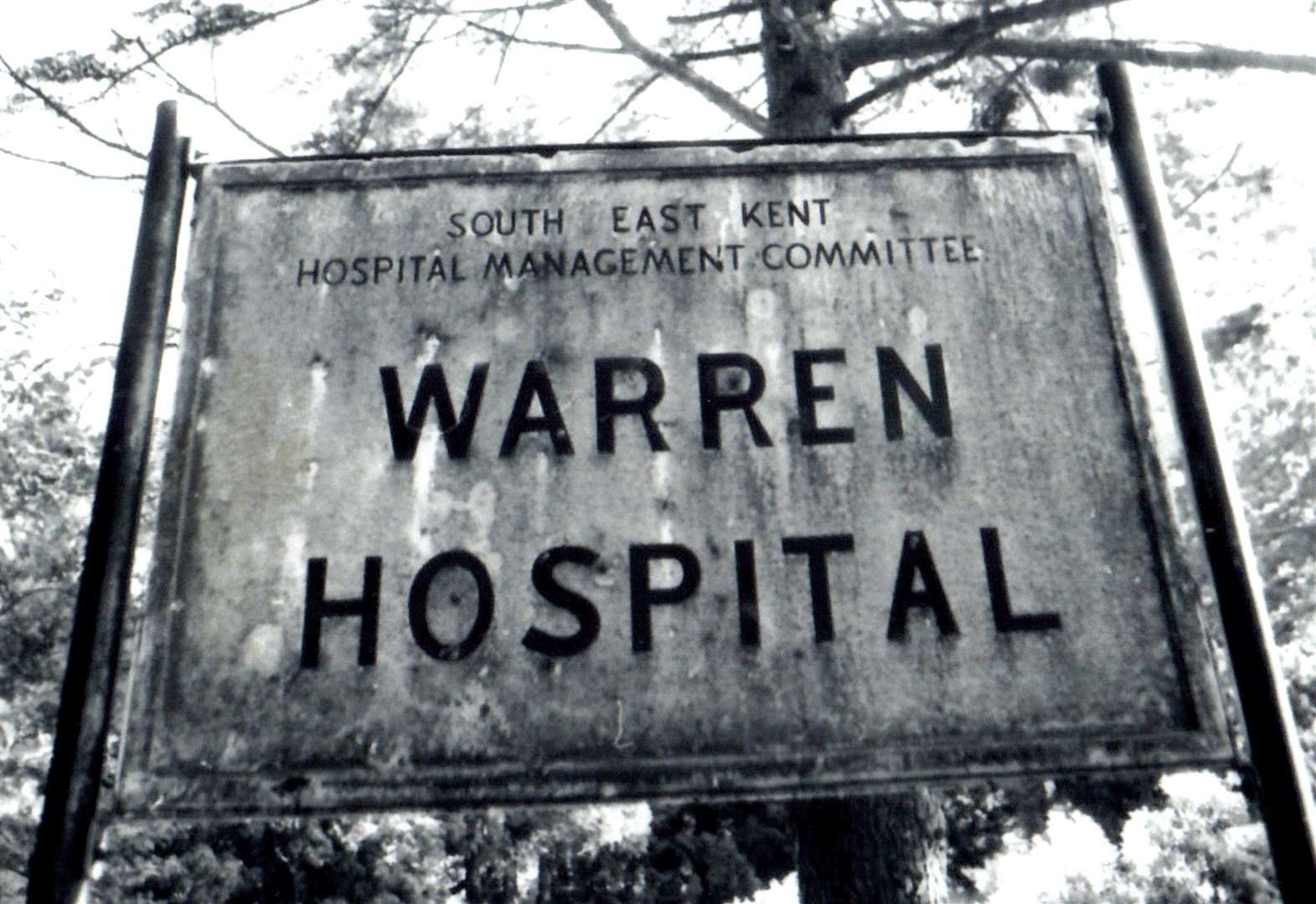 Are you living on an old hospital?