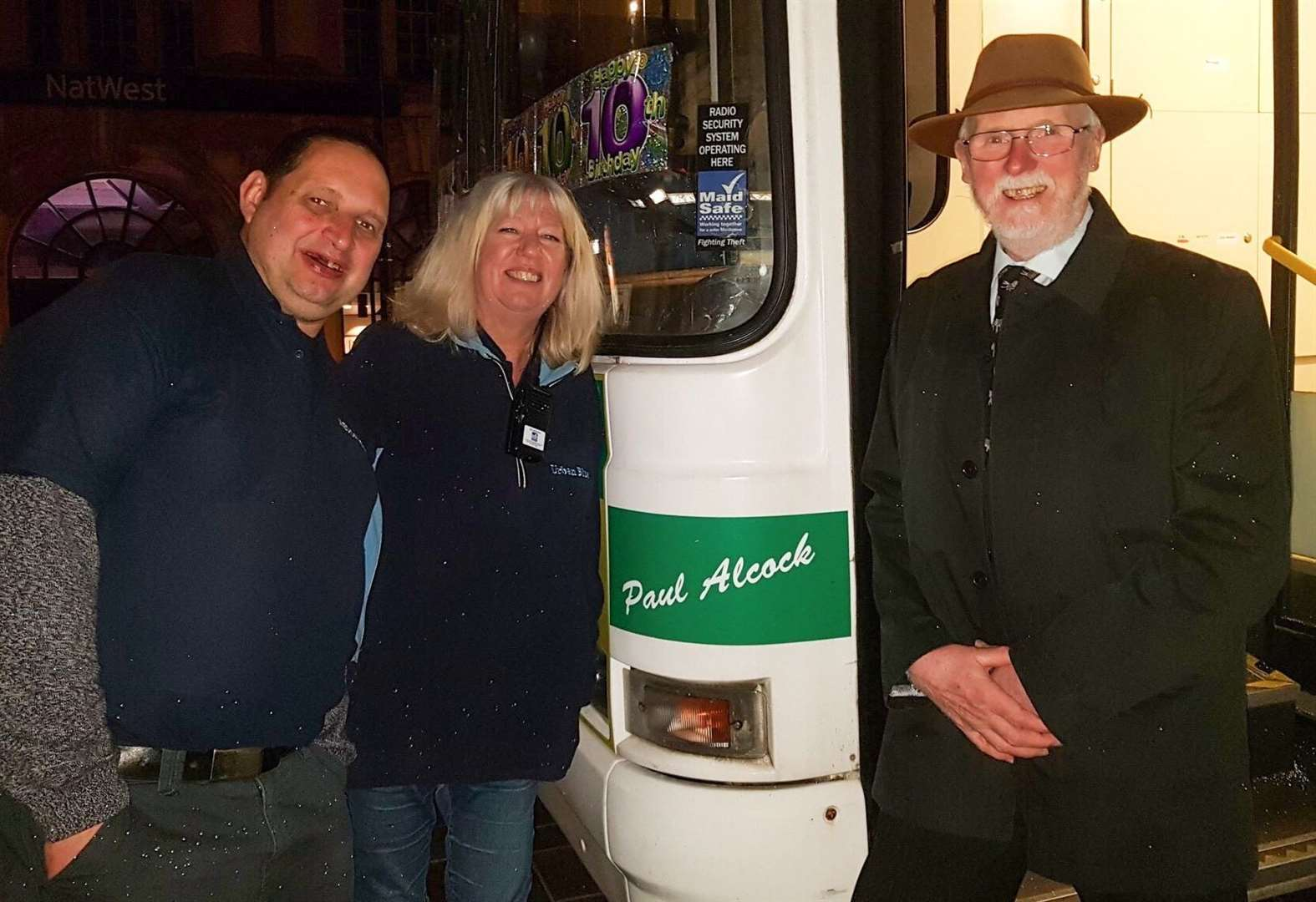 Bus to help revellers turns 10