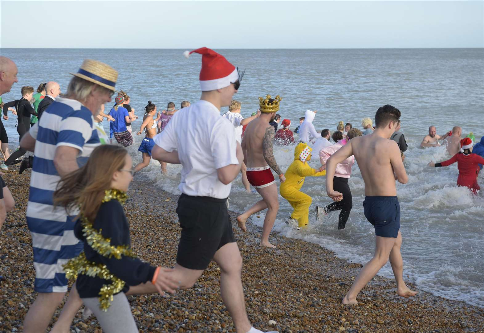 Last Boxing Day Dip for long term organisers