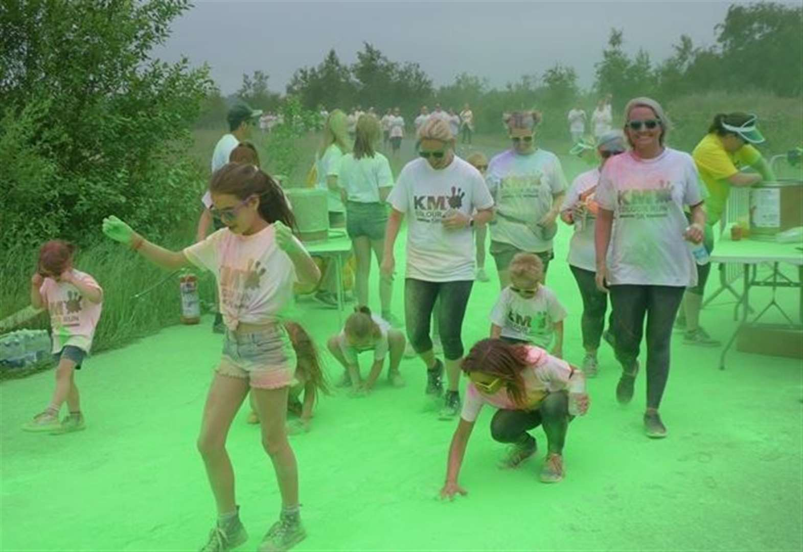 Book now to confirm Colour Run fun