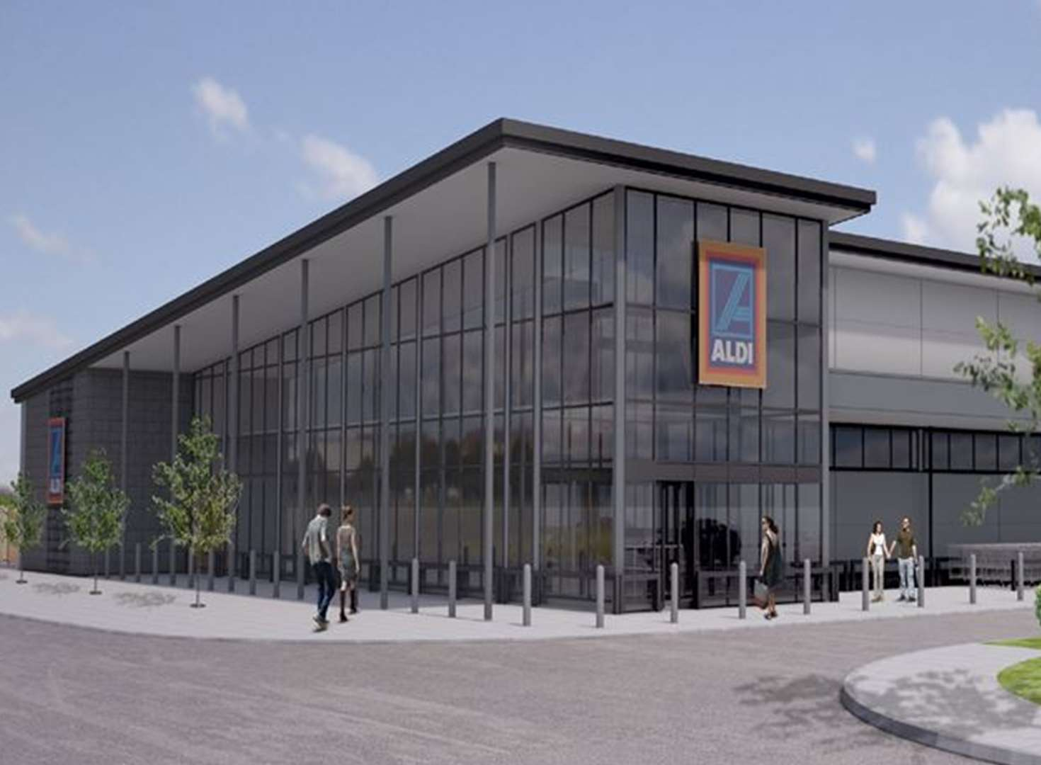 Town set to welcome its first Aldi store