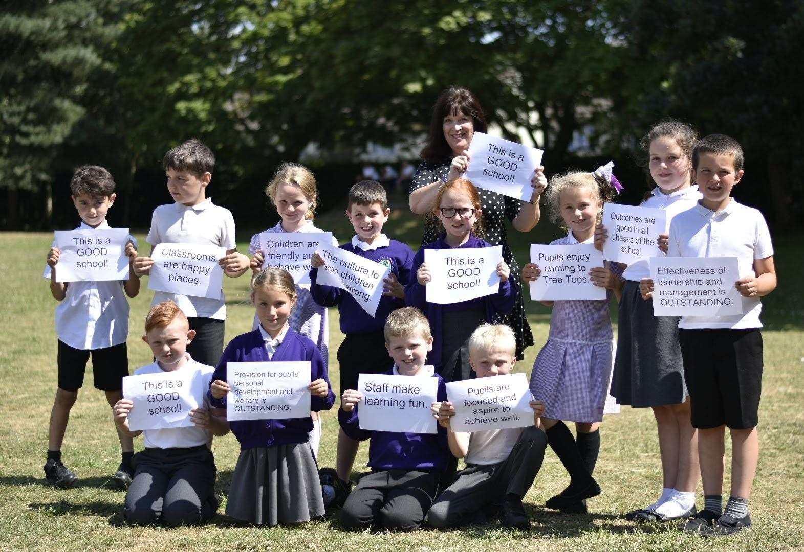 School's flash mob video to celebrate Good Ofsted