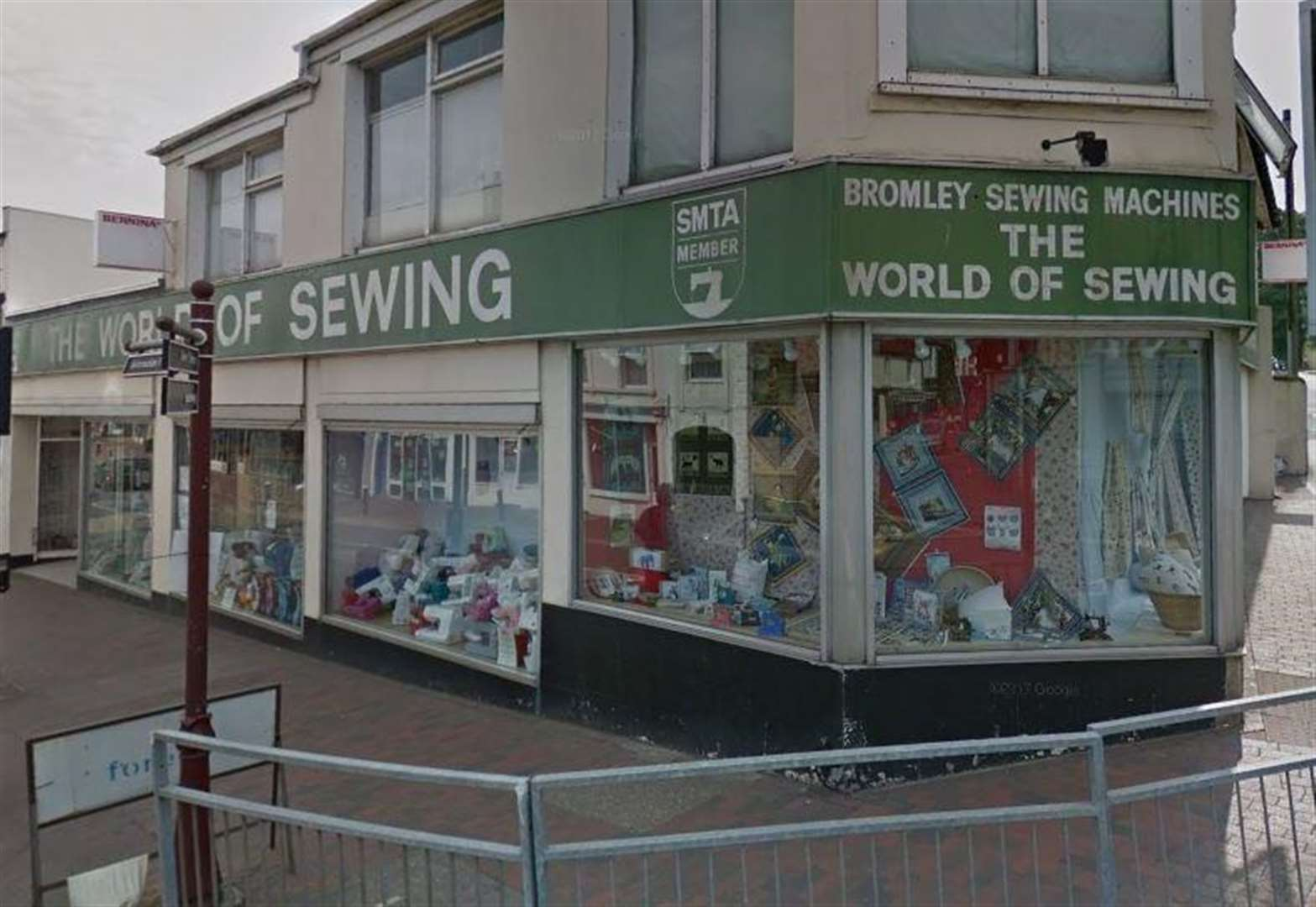 Sewing store defends sale of 'Oh My Golly' fabric