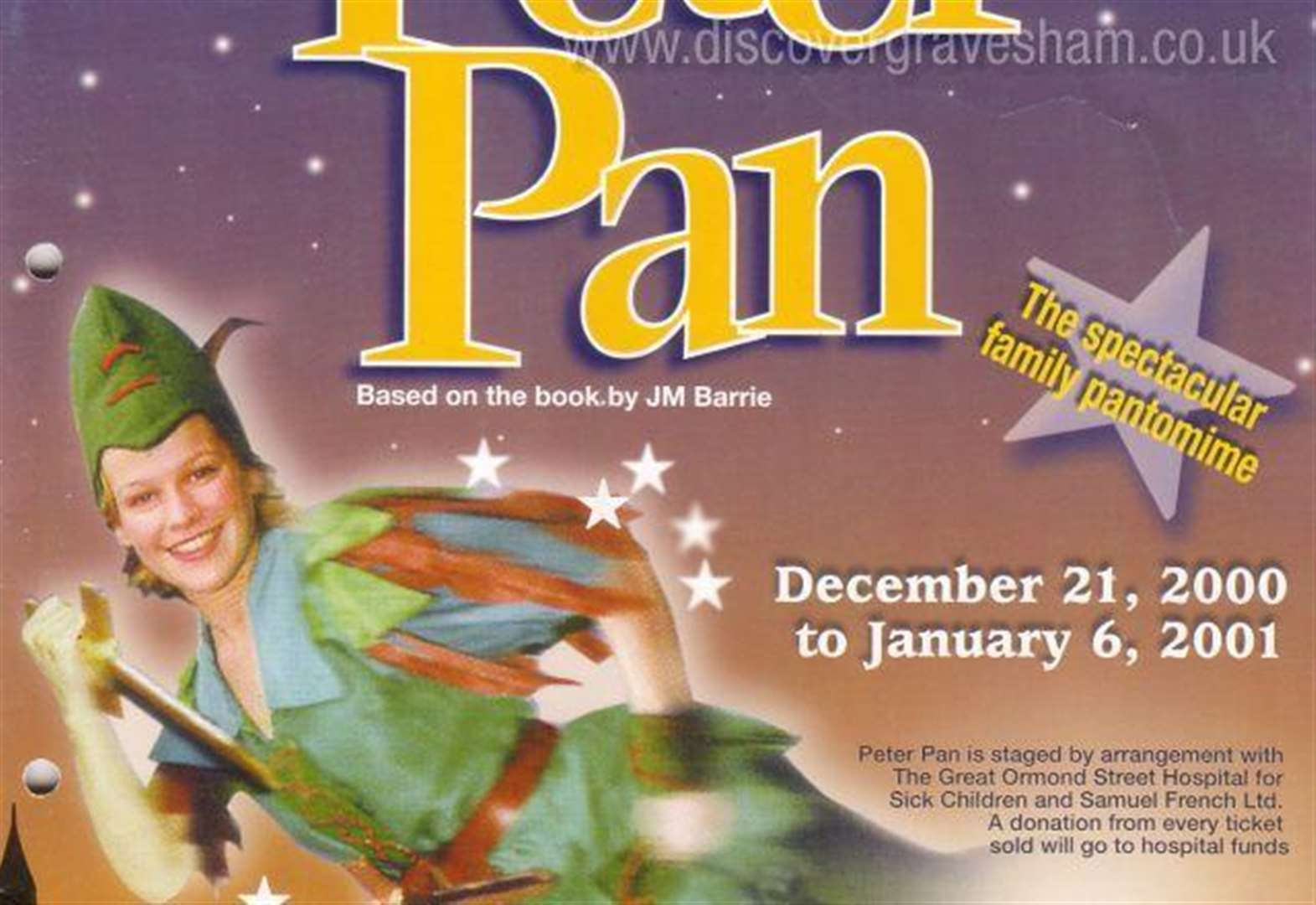 Half a century of pantomimes at The Woodville Theatre