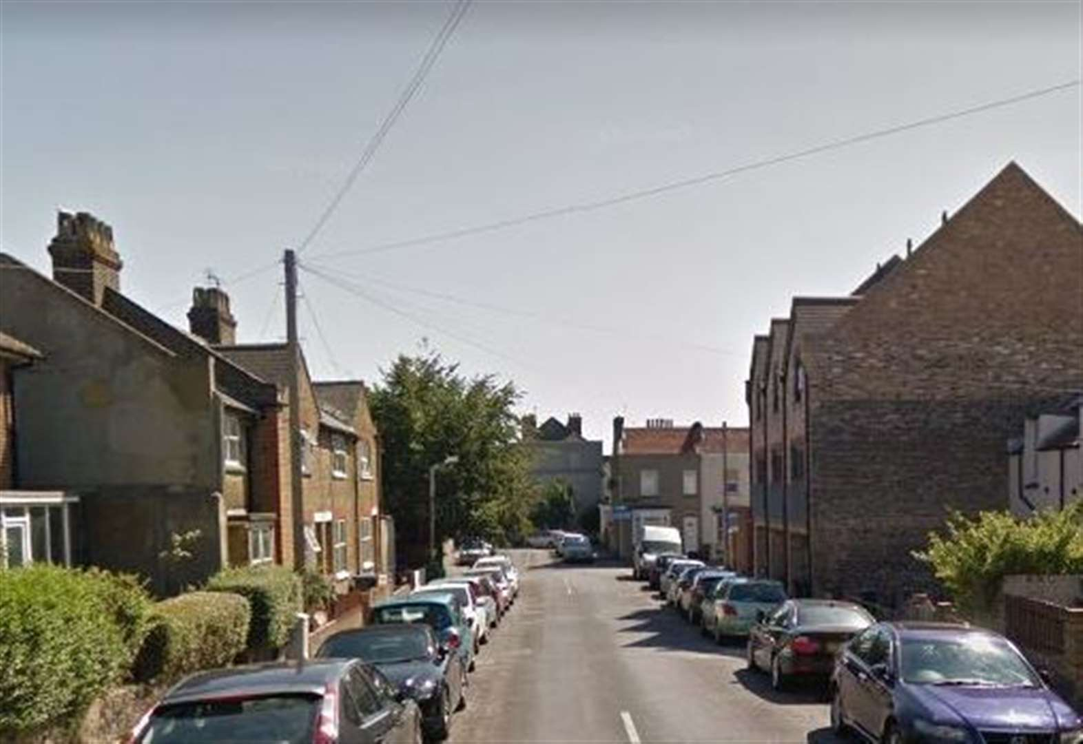 Man 'covered in blood' after stabbing
