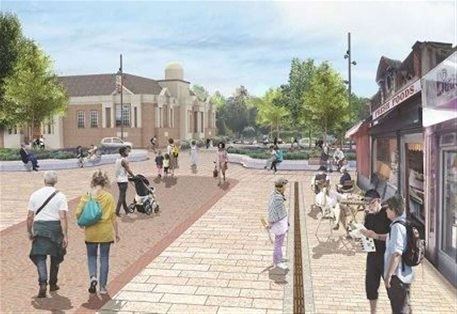 Work to begin on town centre redevelopment