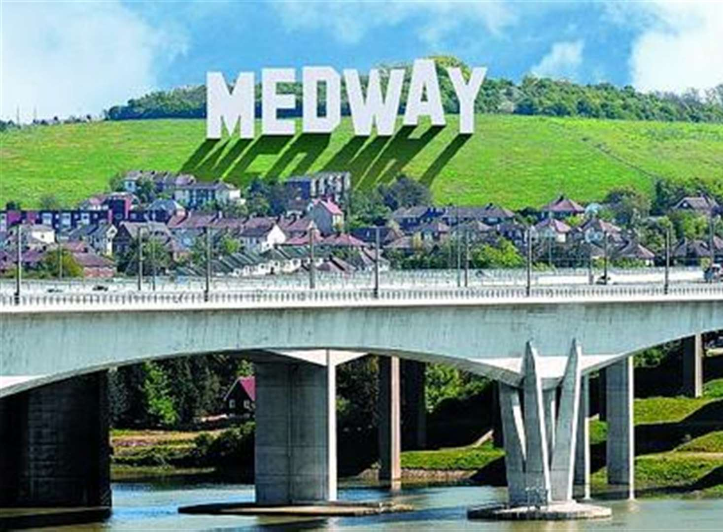 Medway's Hollywood sign plan