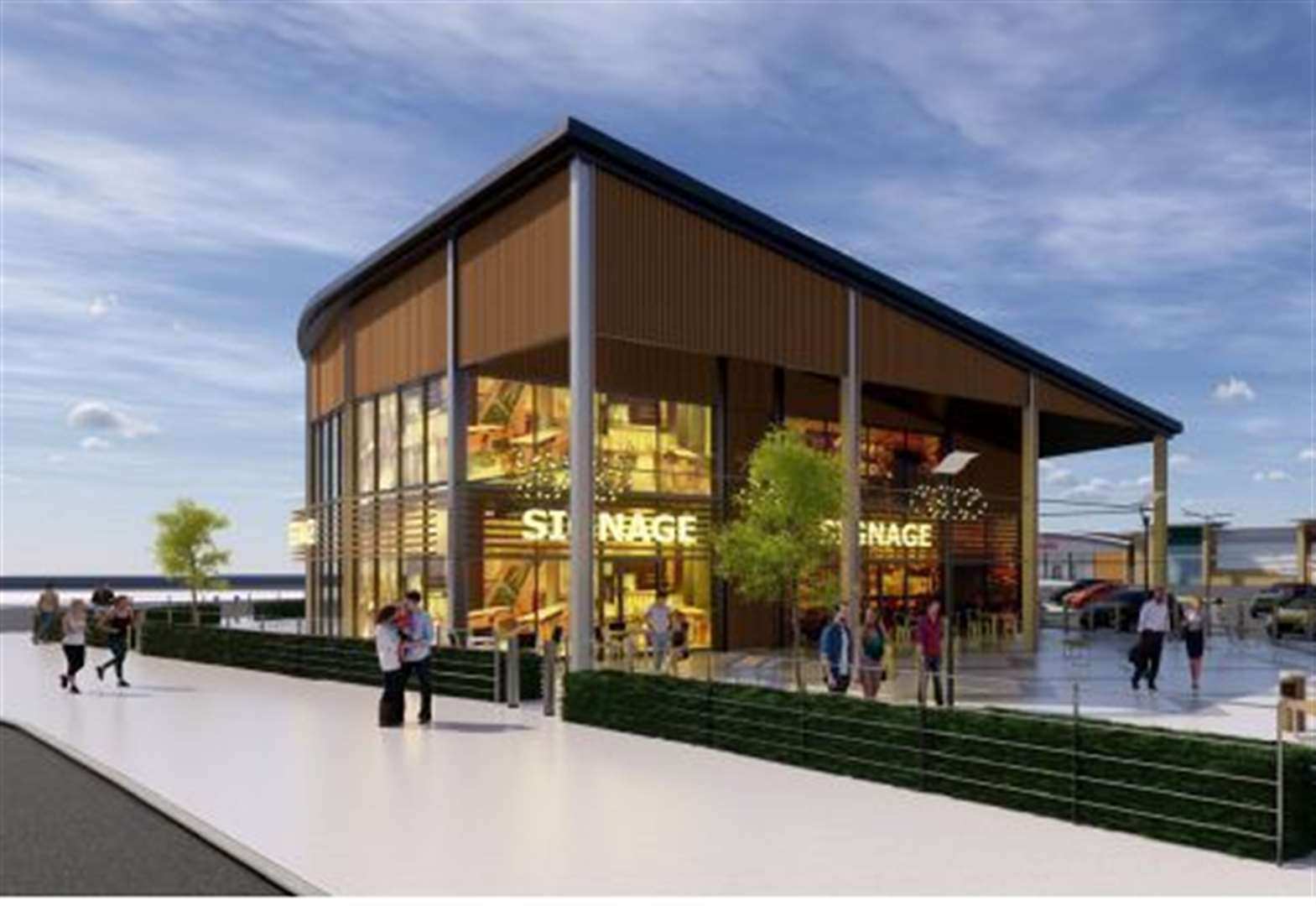 Expansion plans submitted for retail park