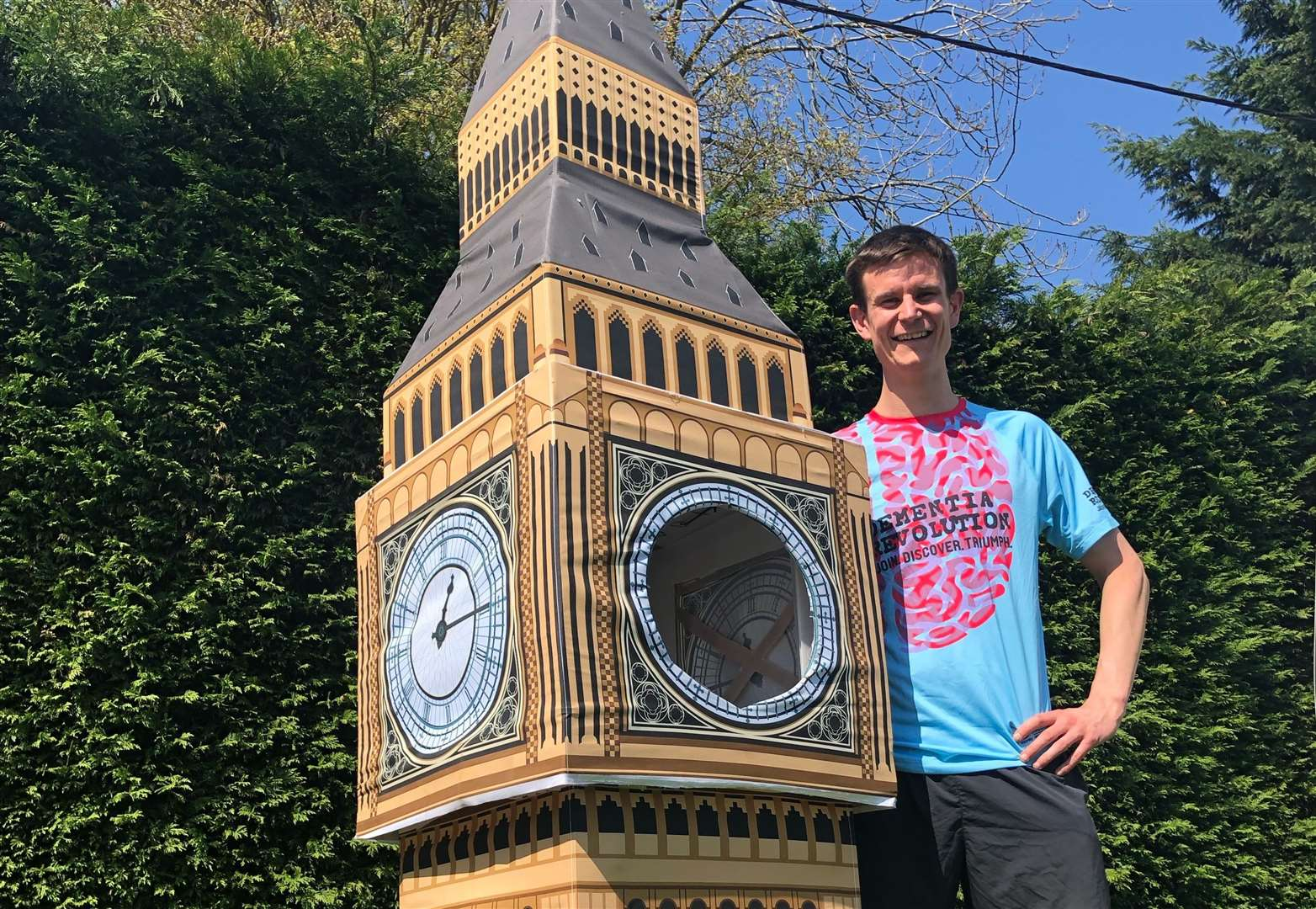Big Ben costume runner describes 'mental' press attention