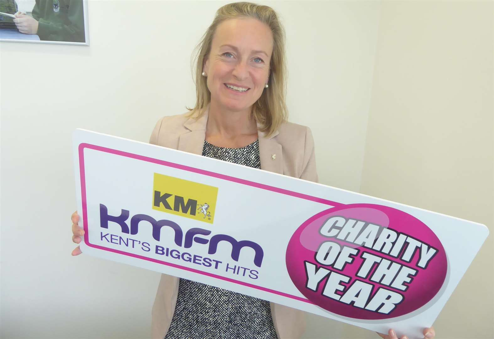 Media group is a charity champion