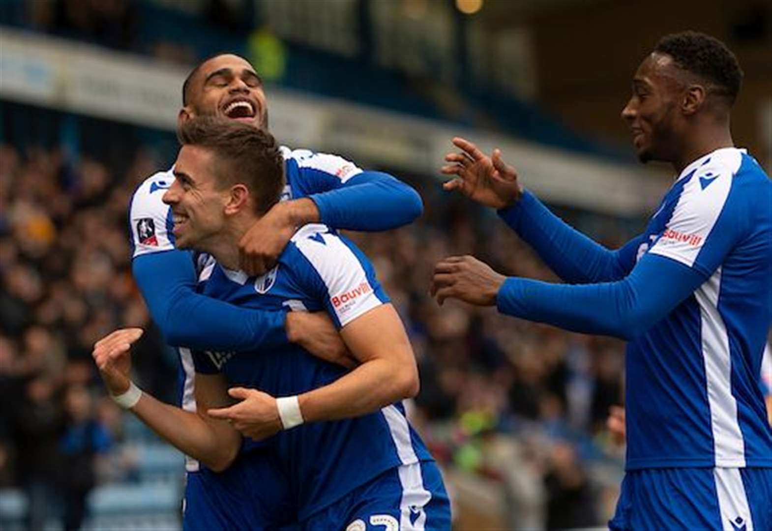 FA Cup report: Fast start sets Gills on their way