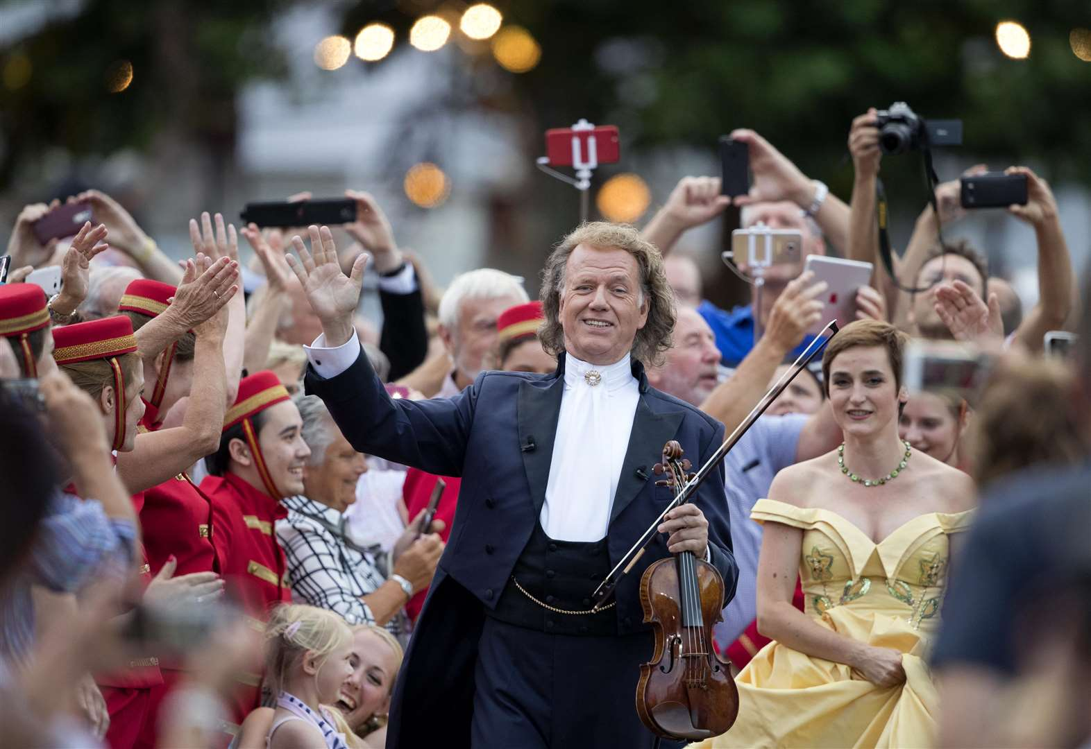 See Andre Rieu's annual Maastricht concert live in Kent