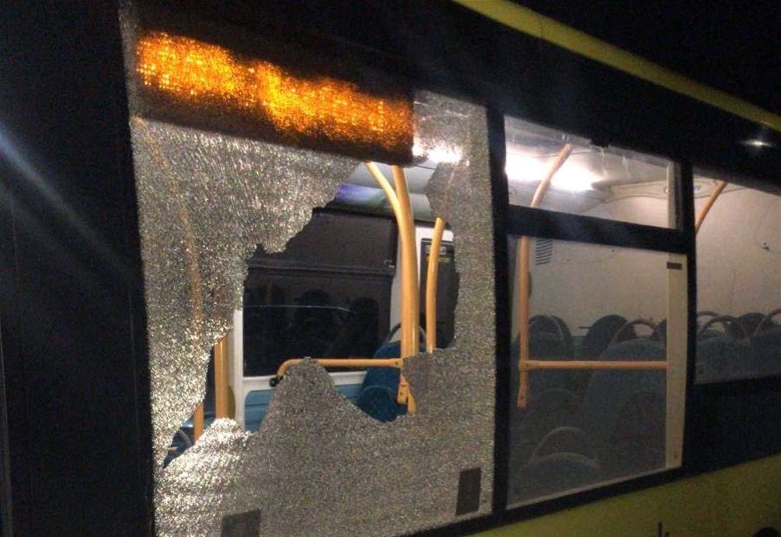 Bus route axed after yob attack