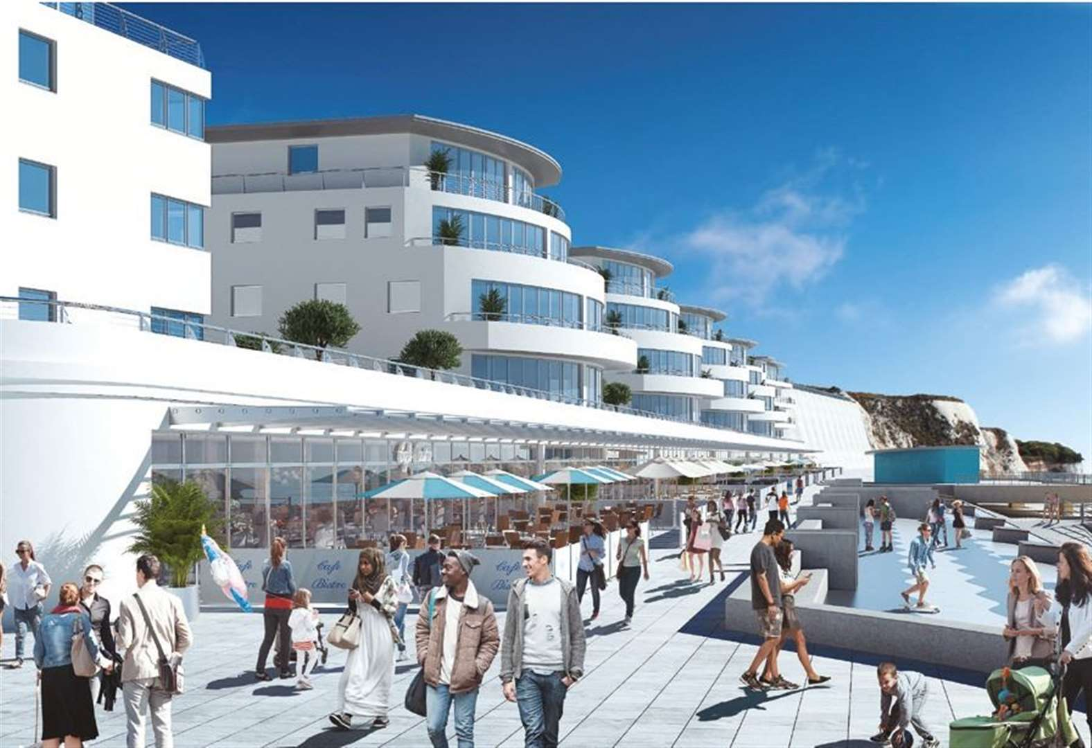 Luxury seafront apartments snapped up - but more to go on sale