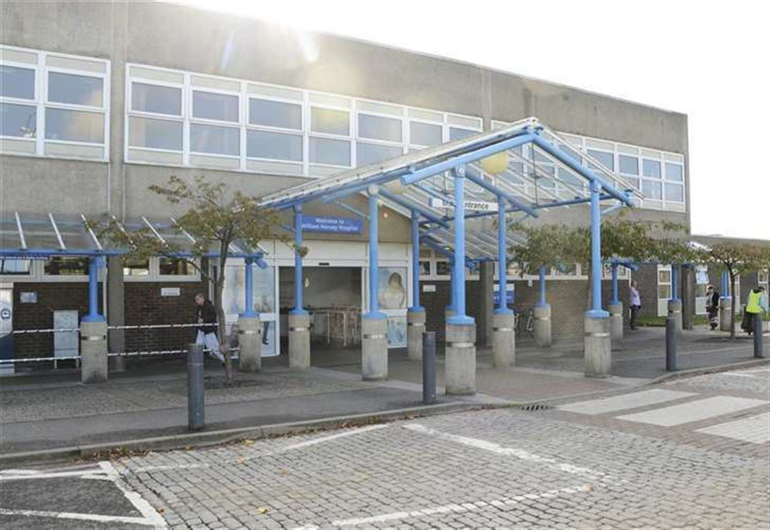 Covid-hit hospitals trust improves after hygiene issues