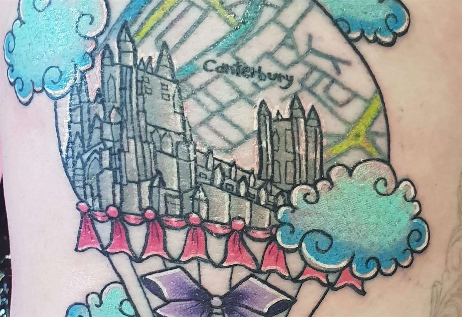 No regrets after bold tattoo of city