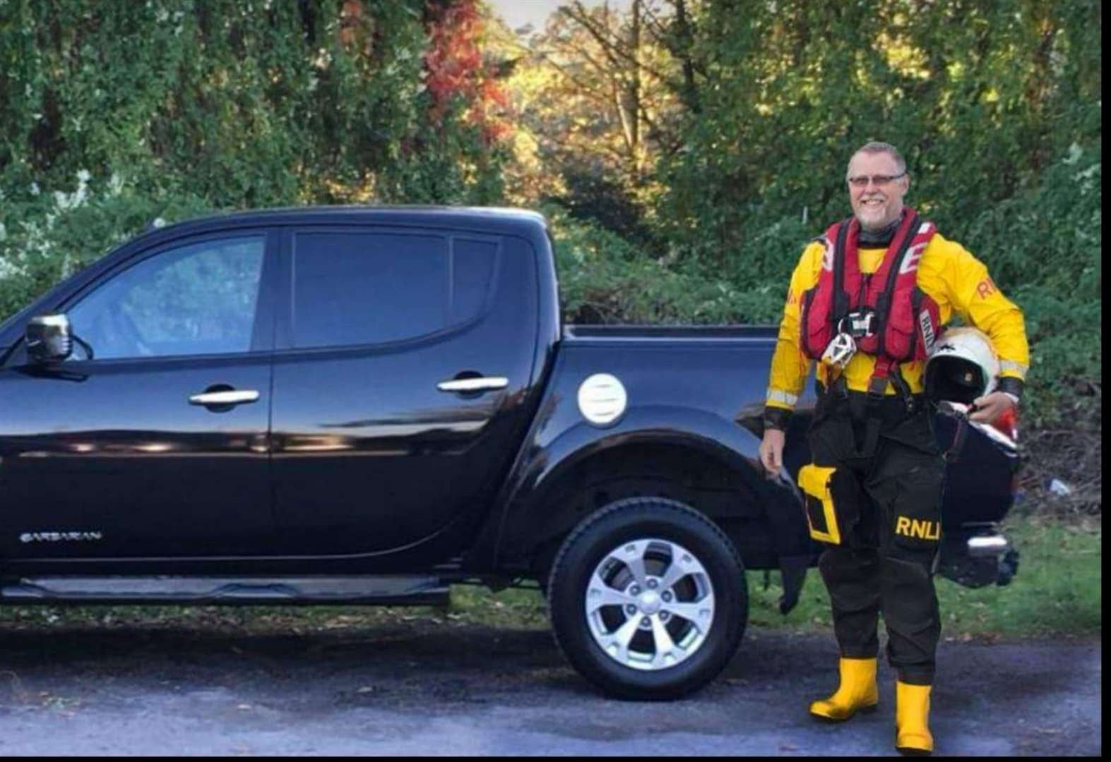 Thieves steal RNLI volunteer's truck