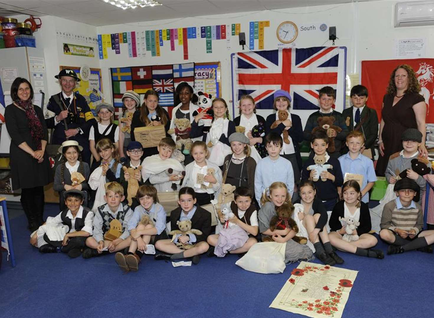 Eastry pupils evacuated to life in wartime