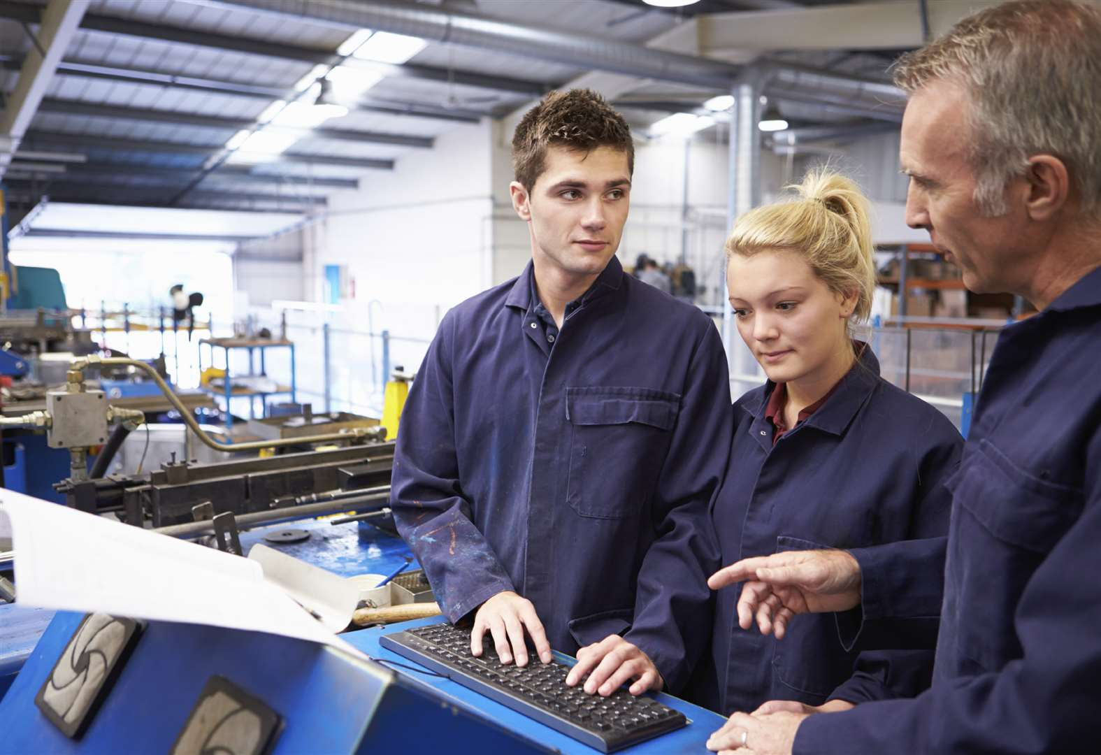 Fewer young apprentices