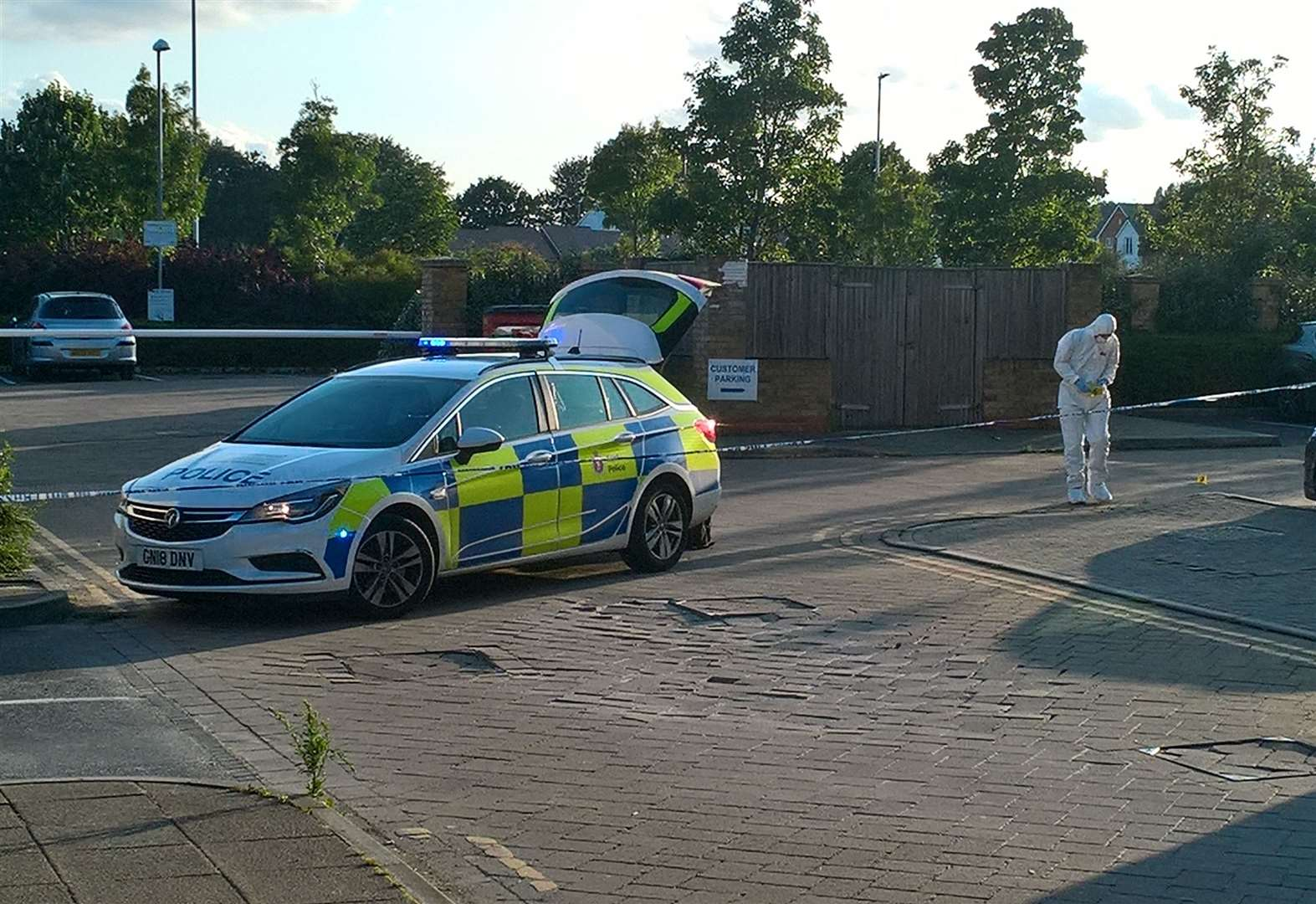 Man in court after car park stabbing