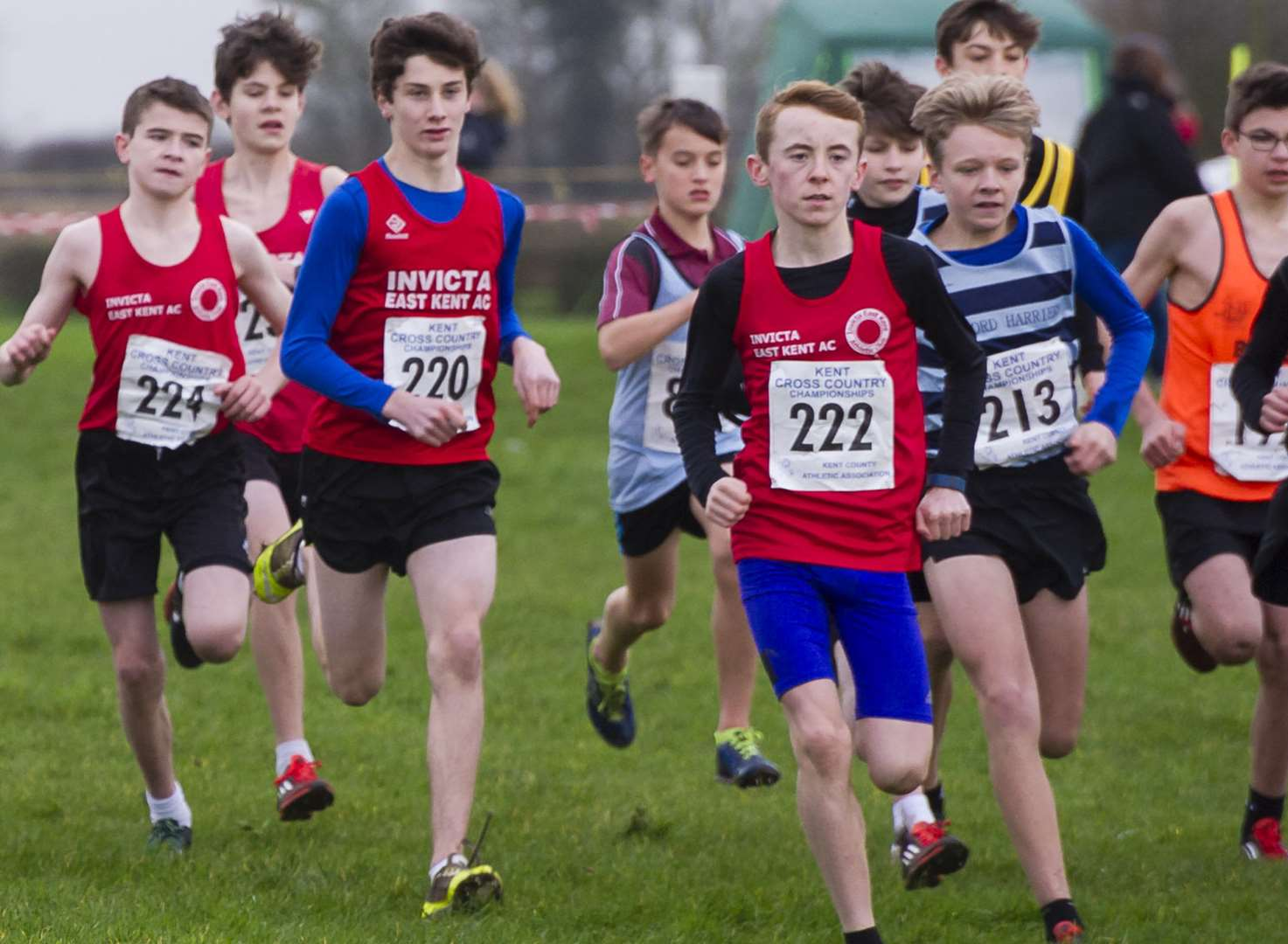 Kent County Cross-Country Championships - in pictures