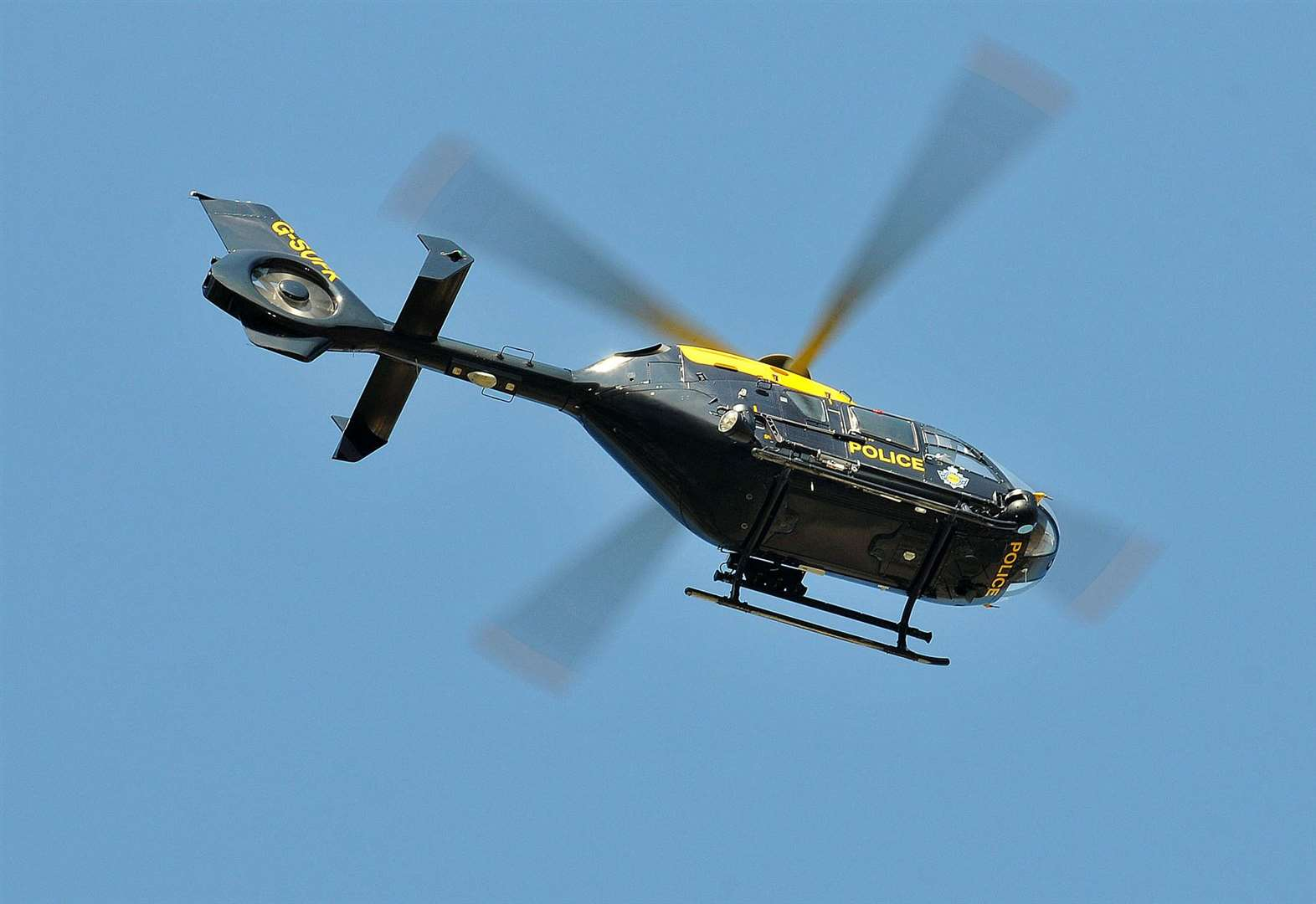 Helicopter launched in search for missing girl