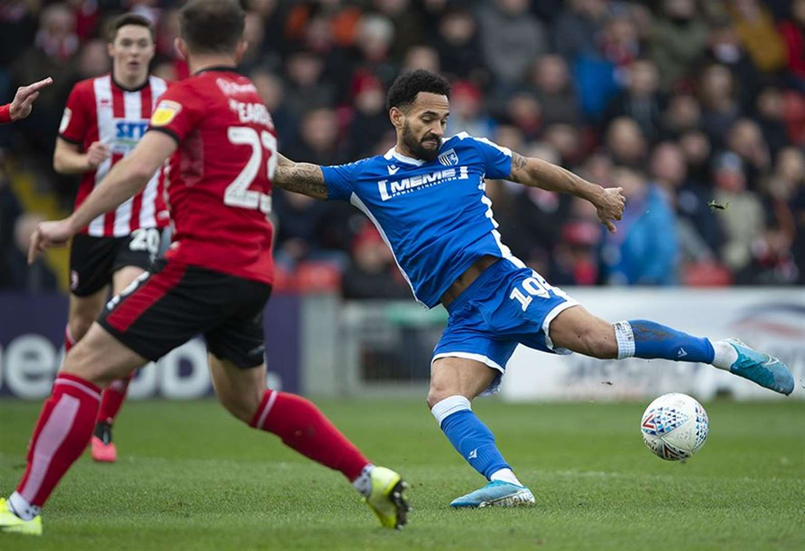 Report: Gills bag away point